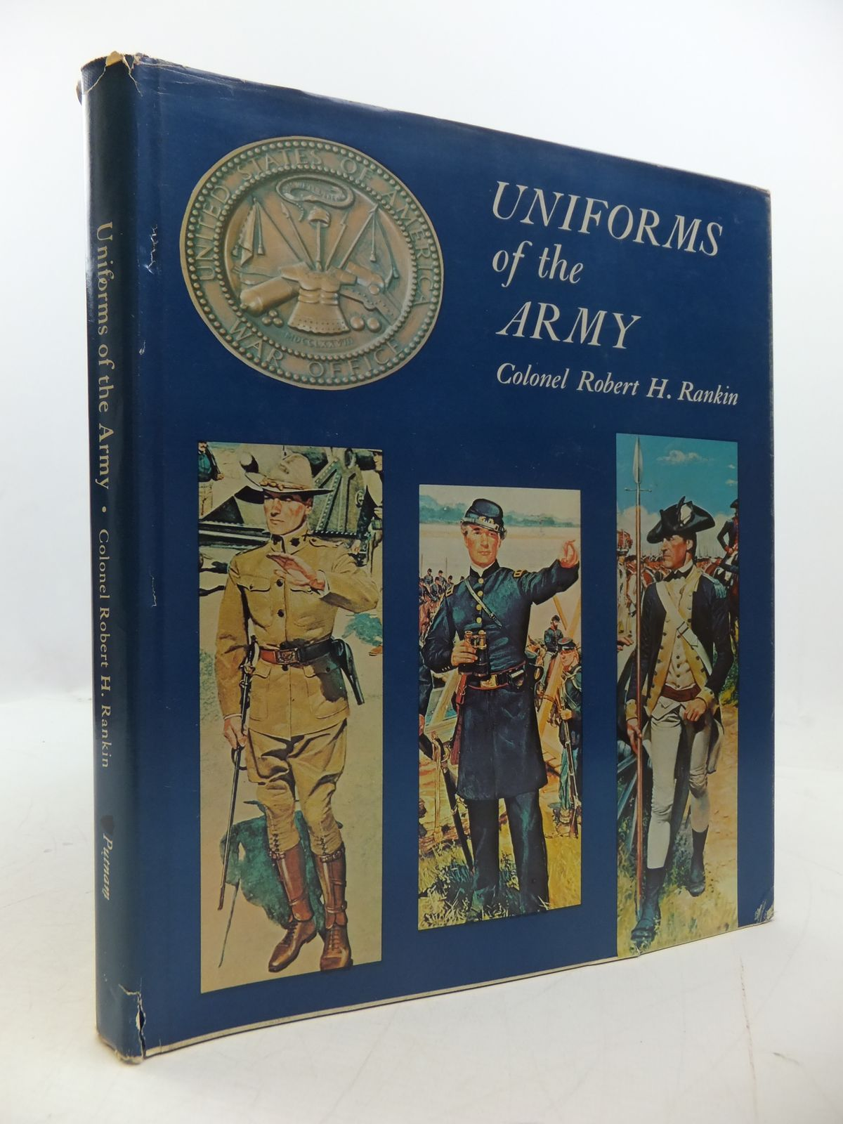 Photo of UNIFORMS OF THE ARMY written by Rankin, Robert H. published by G.P. Putnam's Sons (STOCK CODE: 1807731)  for sale by Stella & Rose's Books