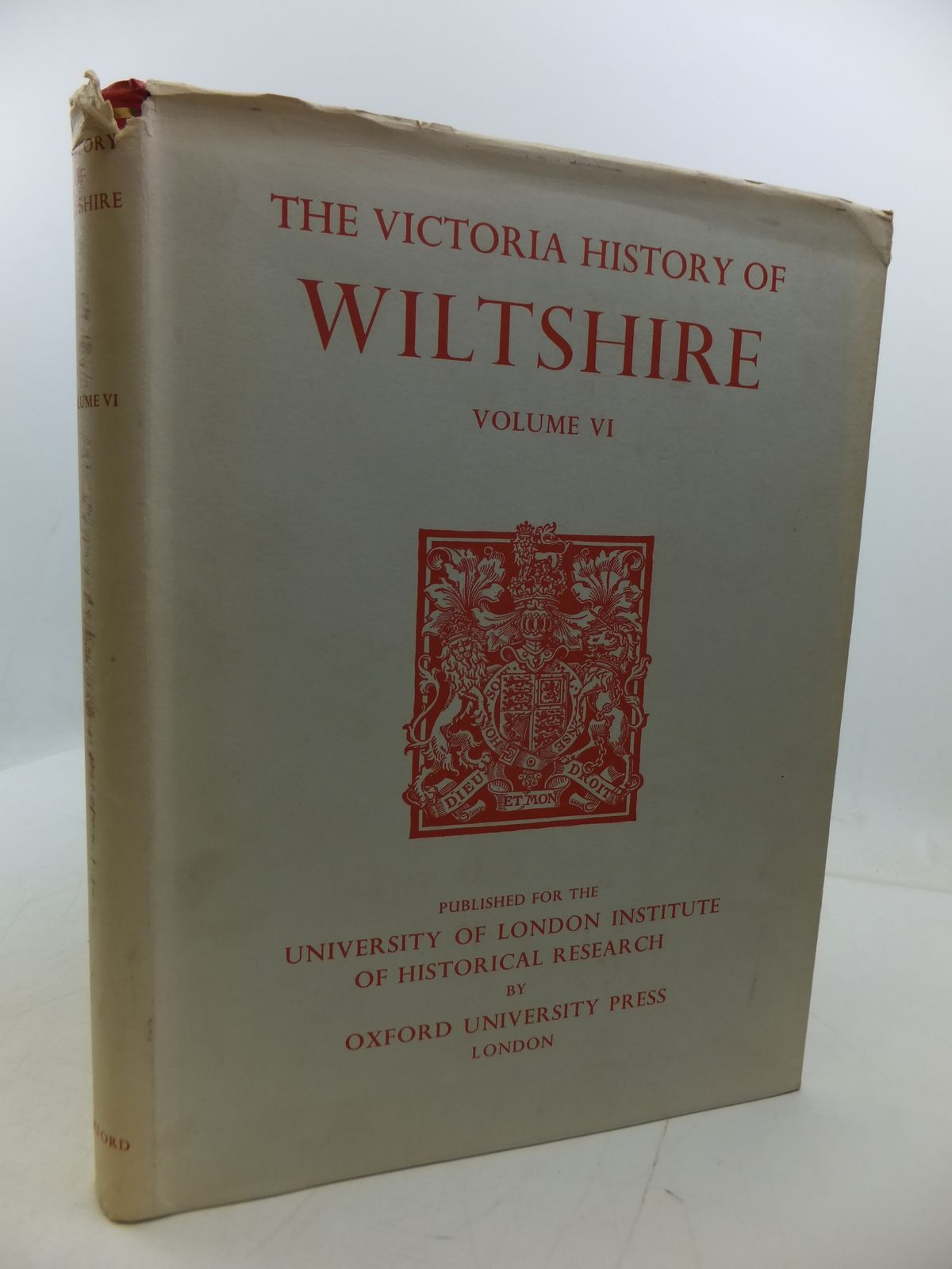Photo of A HISTORY OF WILTSHIRE VOLUME VI written by Pugh, R.B.<br />Crittall, Elizabeth published by Oxford University Press (STOCK CODE: 1807745)  for sale by Stella & Rose's Books
