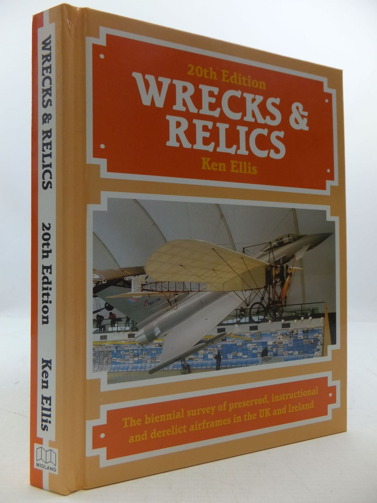 Photo of WRECKS & RELICS written by Ellis, Ken published by Midland Publishing (STOCK CODE: 1807830)  for sale by Stella & Rose's Books