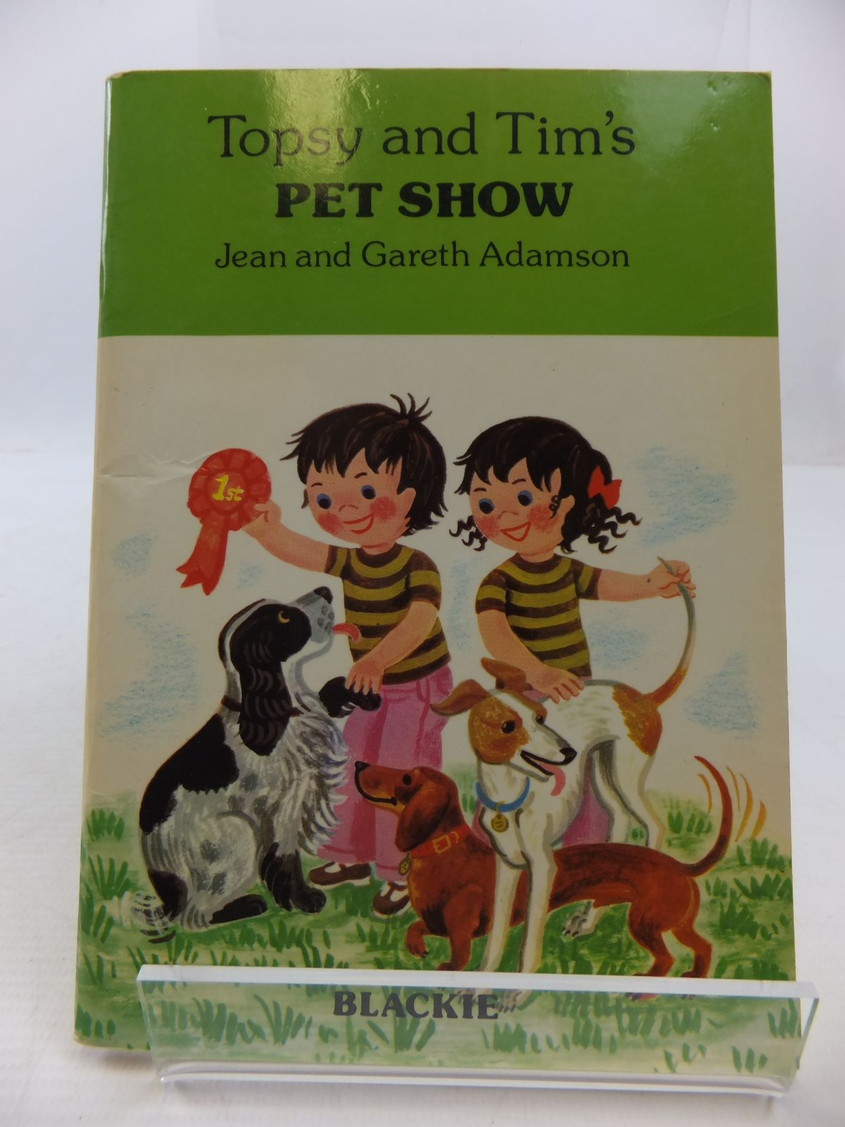 Photo of TOPSY AND TIM'S PET SHOW written by Adamson, Jean<br />Adamson, Gareth illustrated by Adamson, Jean<br />Adamson, Gareth published by Blackie (STOCK CODE: 1807878)  for sale by Stella & Rose's Books