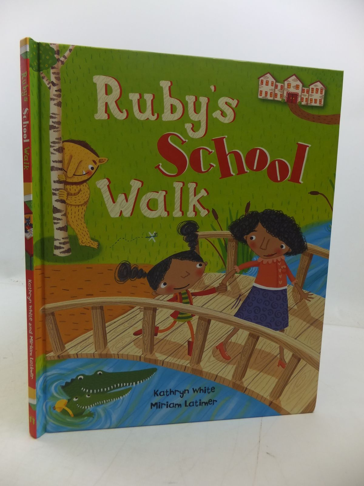 Photo of RUBY'S SCHOOL WALK written by White, Kathryn illustrated by Latimer, Miriam published by Barefoot Books (STOCK CODE: 1807937)  for sale by Stella & Rose's Books