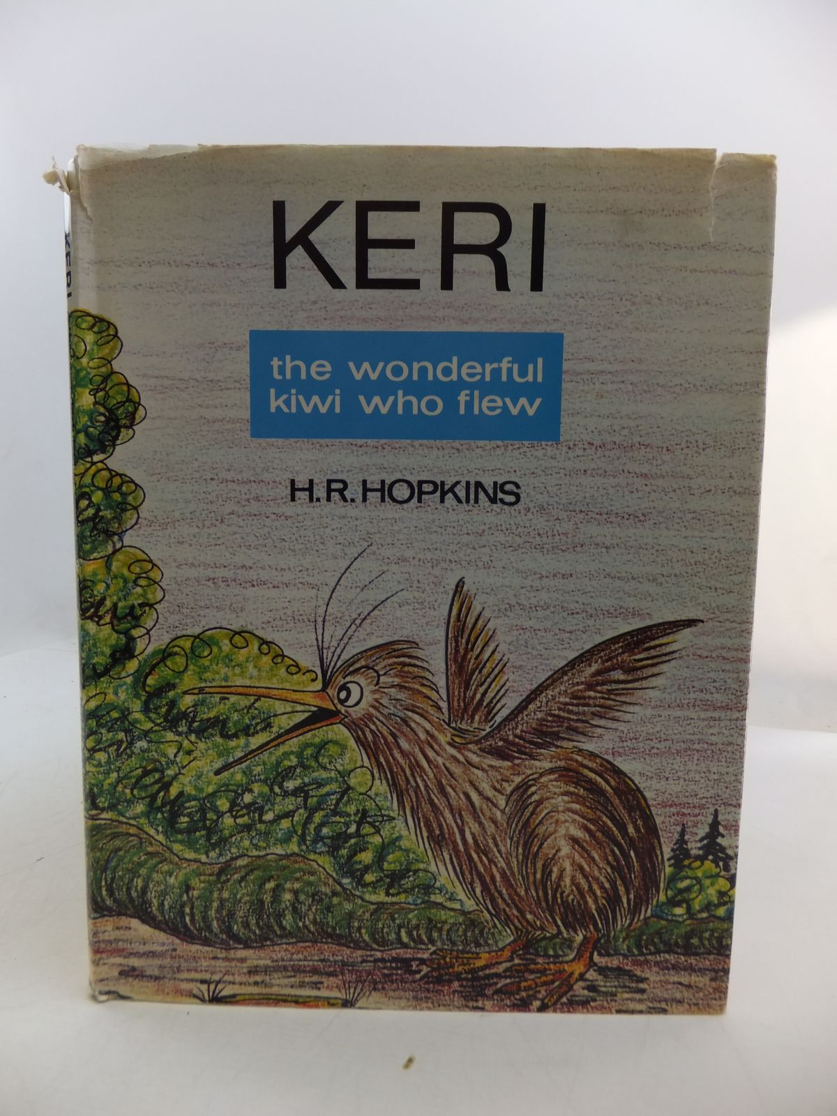 Photo of KERI THE WONDERFUL KIWI WHO FLEW- Stock Number: 1807945