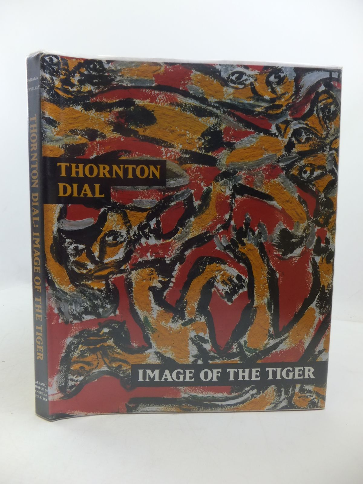Photo of IMAGE OF THE TIGER written by Baraka, Amiri McEvilley, Thomas illustrated by Thornton, Dial published by Harry N. Abrams (STOCK CODE: 1807956)  for sale by Stella & Rose's Books