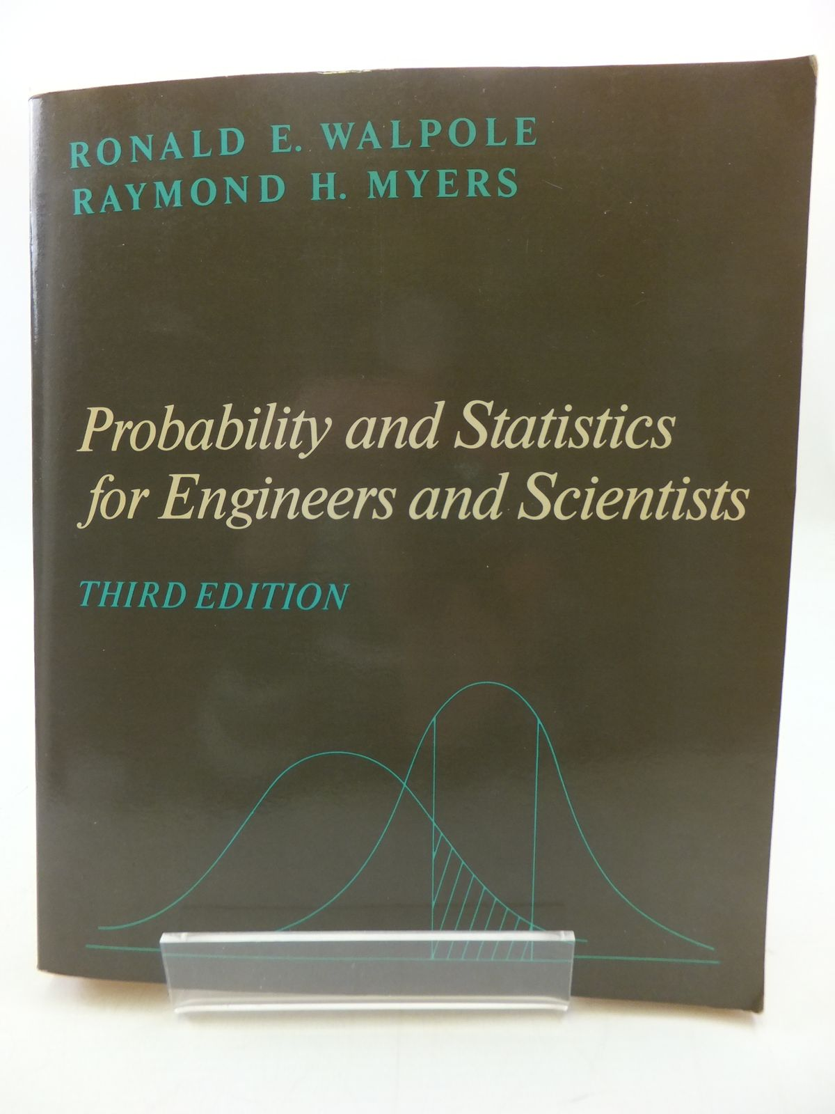 Photo of PROBABILITY AND STATISTICS FOR ENGINEERS AND SCIENTISTS written by Walpole, Ronald E. Myers, Raymond H. published by Macmillan Publishing Co. (STOCK CODE: 1807999)  for sale by Stella & Rose's Books