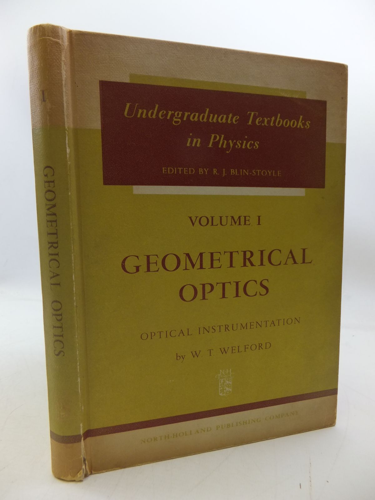 Photo of GEOMETRICAL OPTICS: OPTICAL INTRUMENTATION written by Welford, W.T. published by North-Holland Publishing Company (STOCK CODE: 1808012)  for sale by Stella & Rose's Books