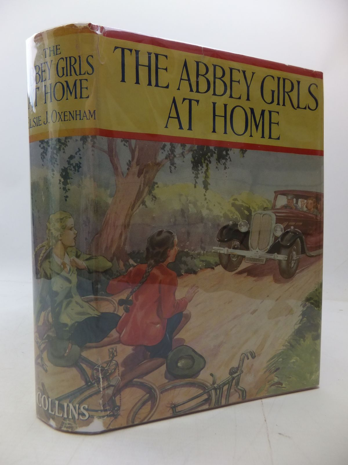 Photo of THE ABBEY GIRLS AT HOME written by Oxenham, Elsie J. published by Collins Clear-Type Press (STOCK CODE: 1808066)  for sale by Stella & Rose's Books