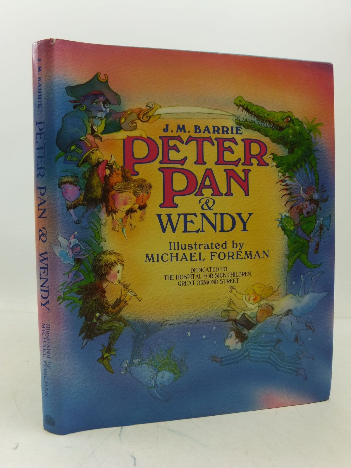 Photo of PETER PAN & WENDY written by Barrie, J.M. illustrated by Foreman, Michael published by Pavilion Books (STOCK CODE: 1808134)  for sale by Stella & Rose's Books