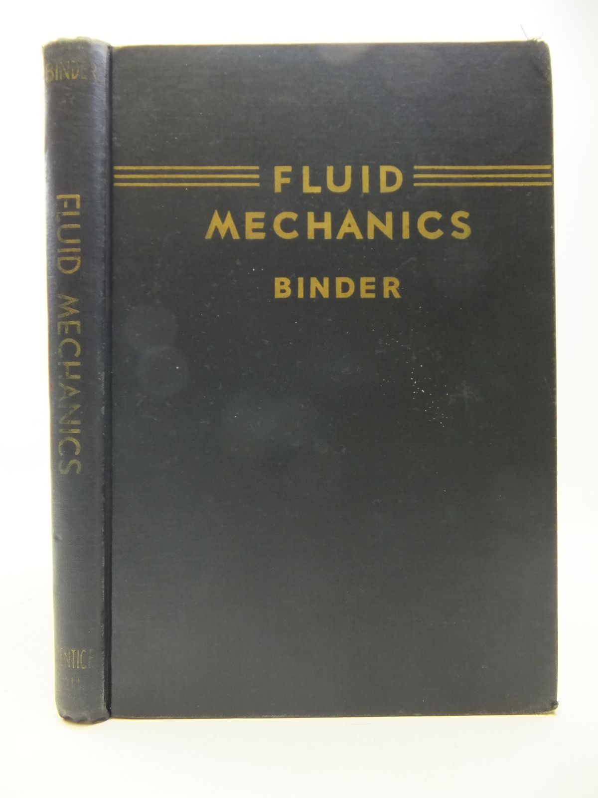 Photo of FLUID MECHANICS written by Binder, R.C. published by Constable and Company Ltd. (STOCK CODE: 1808158)  for sale by Stella & Rose's Books
