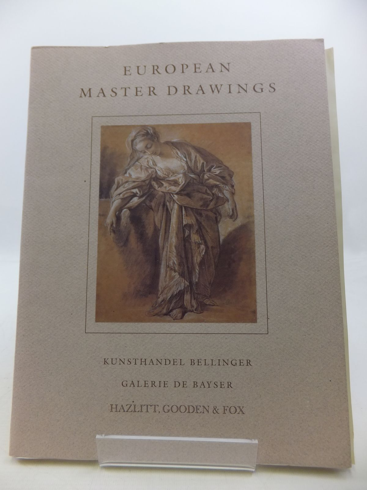 Photo of EUROPEAN MASTER DRAWINGS- Stock Number: 1808327