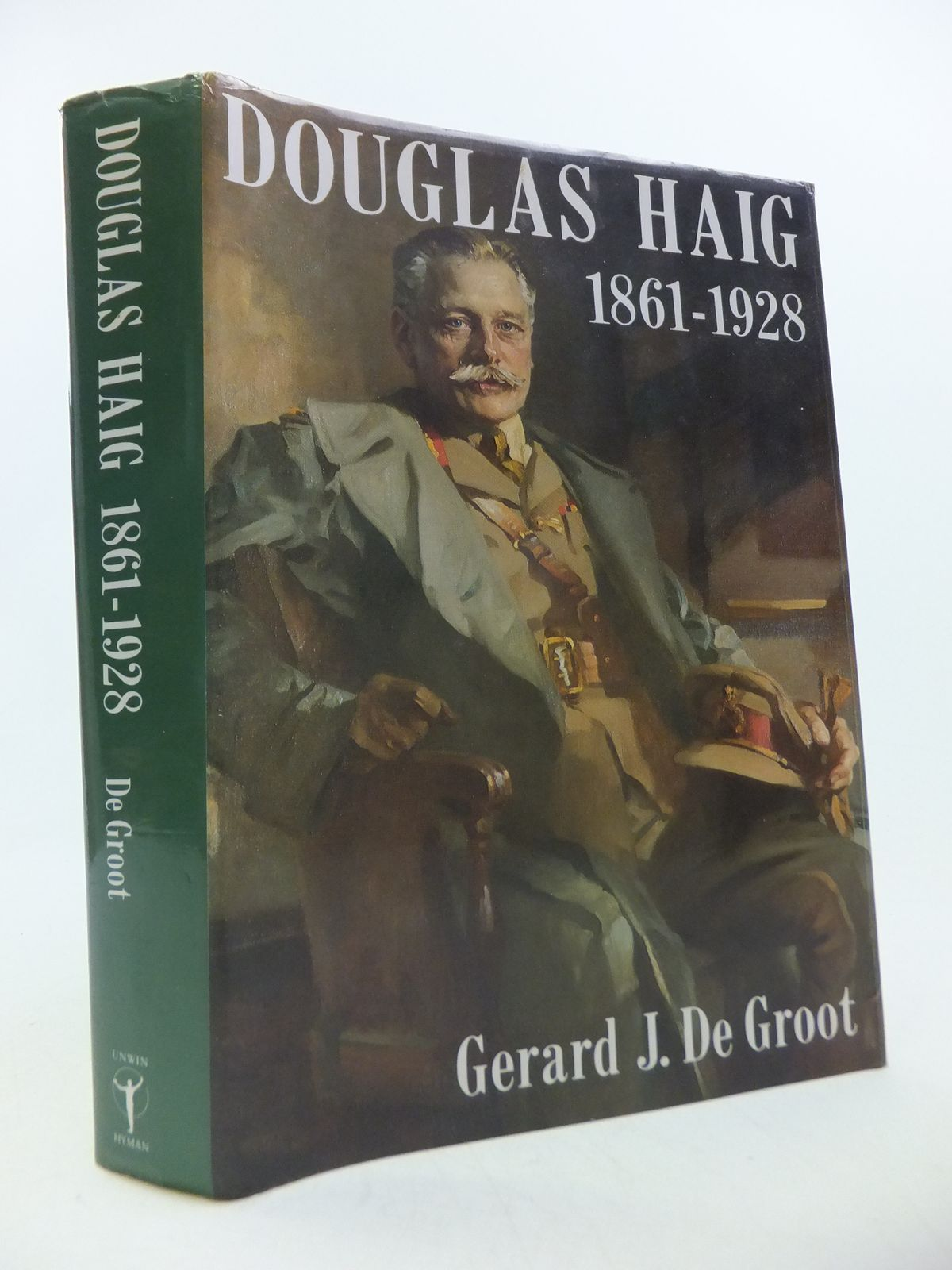 Photo of DOUGLAS HAIG, 1861-1928 written by De Groot, Gerard J. published by Unwin Hyman (STOCK CODE: 1808768)  for sale by Stella & Rose's Books