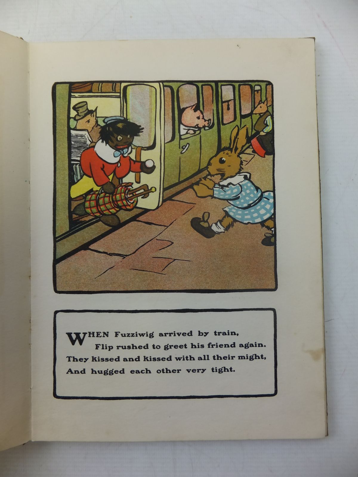 Photo of THE STORY OF FLIP & FUZZY written by Pope, Jessie illustrated by Macgregor, Angusine published by Blackie & Son Ltd. (STOCK CODE: 1808903)  for sale by Stella & Rose's Books