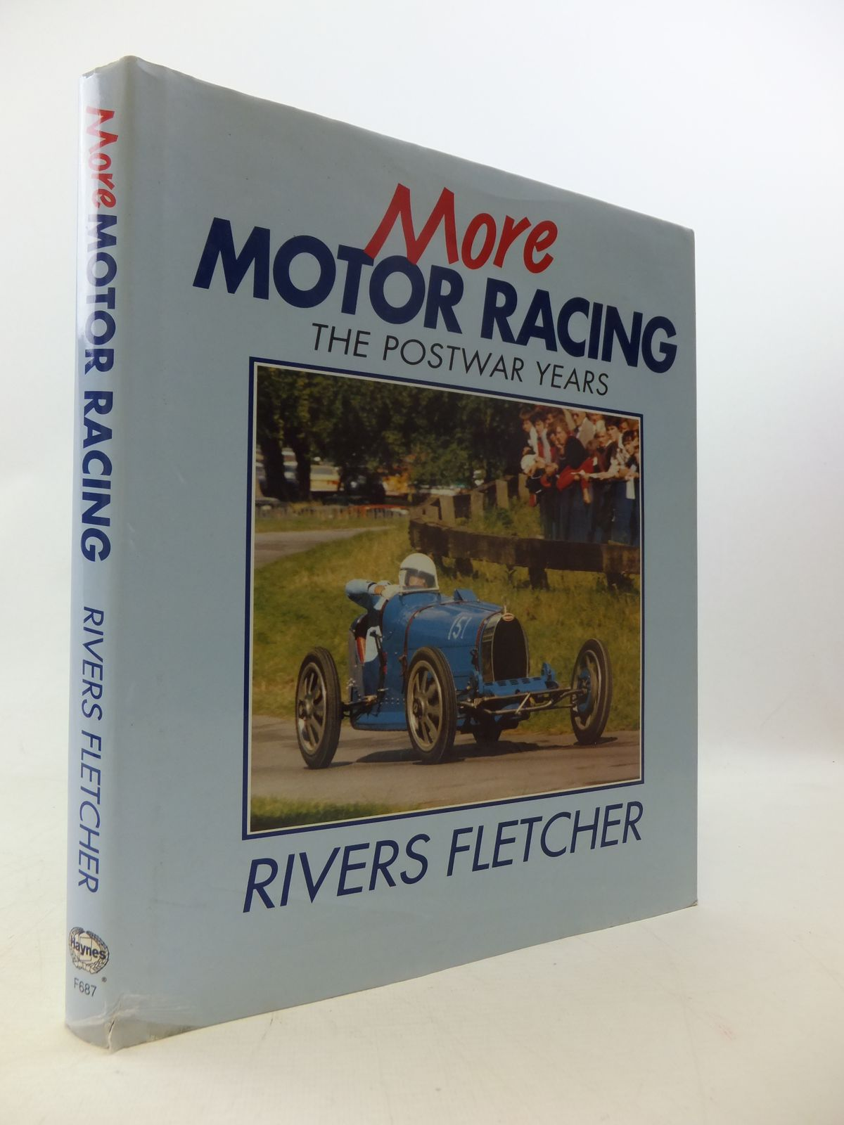 Photo of MORE MOTOR RACING THE POSTWAR YEARS written by Fletcher, Rivers published by Haynes Publishing Group (STOCK CODE: 1808981)  for sale by Stella & Rose's Books