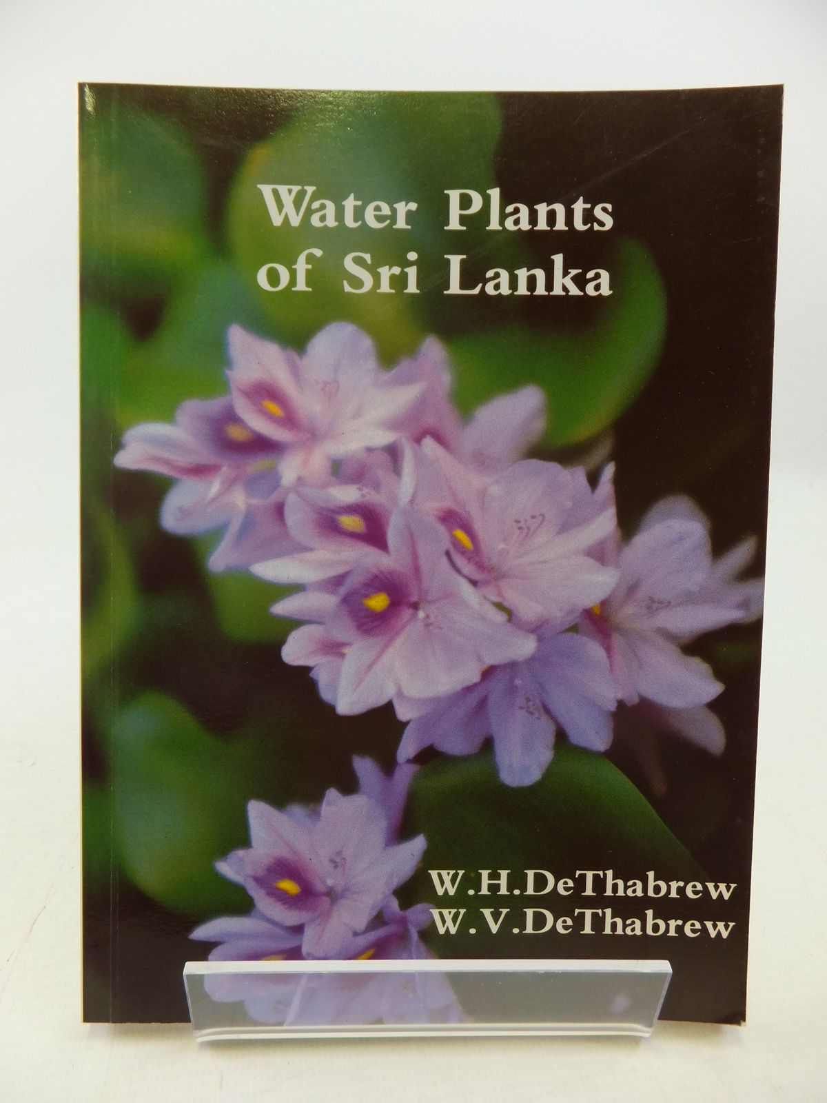 Photo of WATER PLANTS OF SRI LANKA written by De Thabrew, W. Henry De Thabrew, W. Vivian illustrated by De Thabrew, Coral A. published by Suhada Press (STOCK CODE: 1809065)  for sale by Stella & Rose's Books