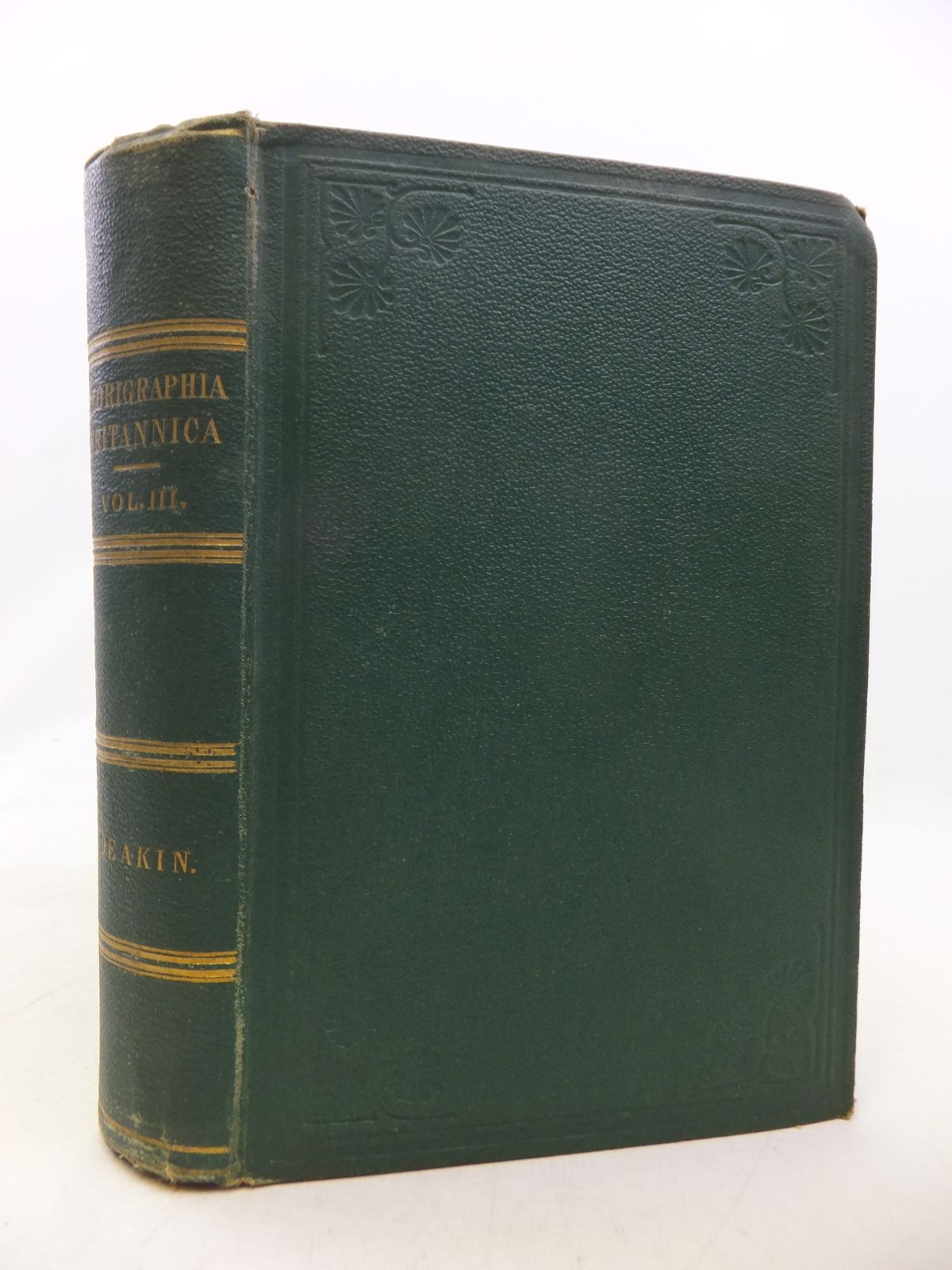 Photo of FLORIGRAPHIA BRITANNICA VOLUME III- Stock Number: 1809130
