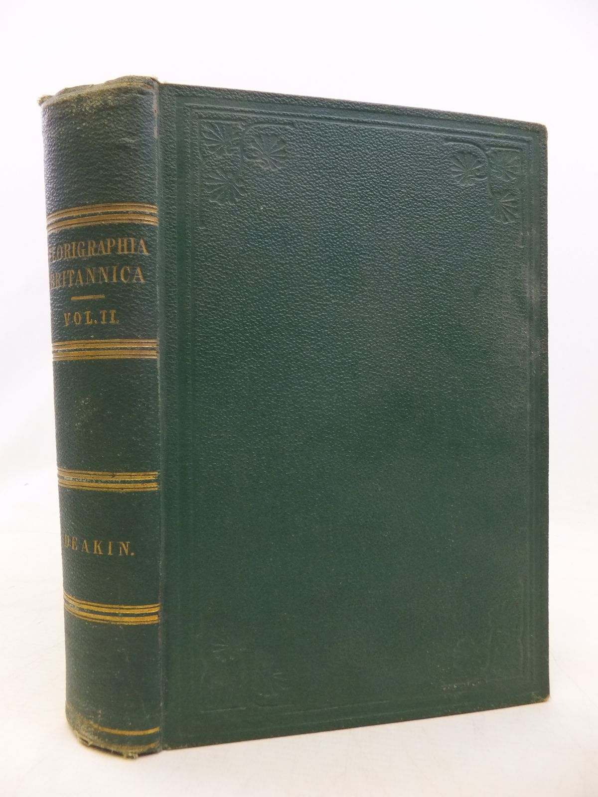 Photo of FLORIGRAPHIA BRITANNICA VOLUME II- Stock Number: 1809153