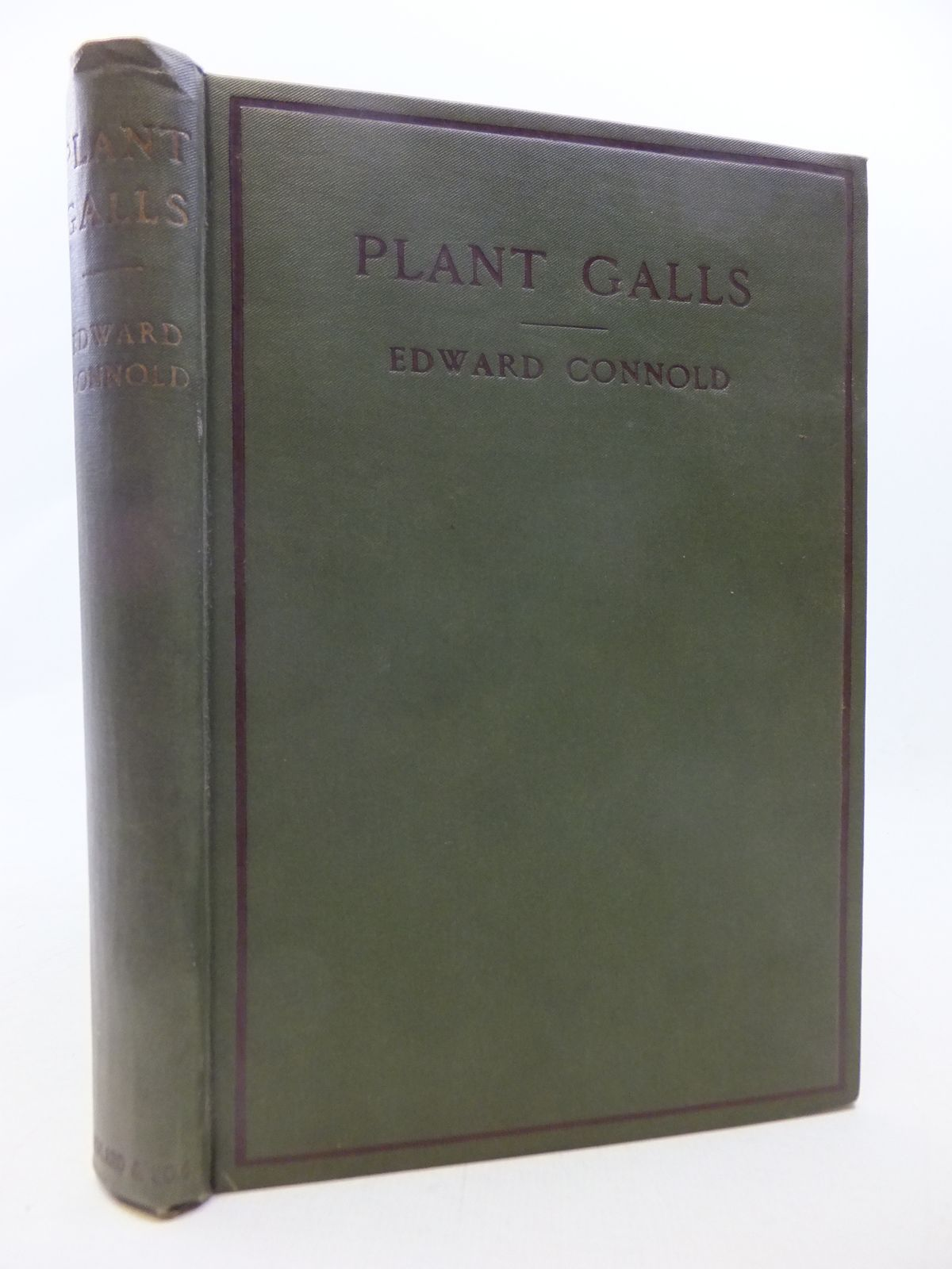 Photo of PLANT GALLS OF GREAT BRITAIN: A NATURE STUDY HANDBOOK- Stock Number: 1809239