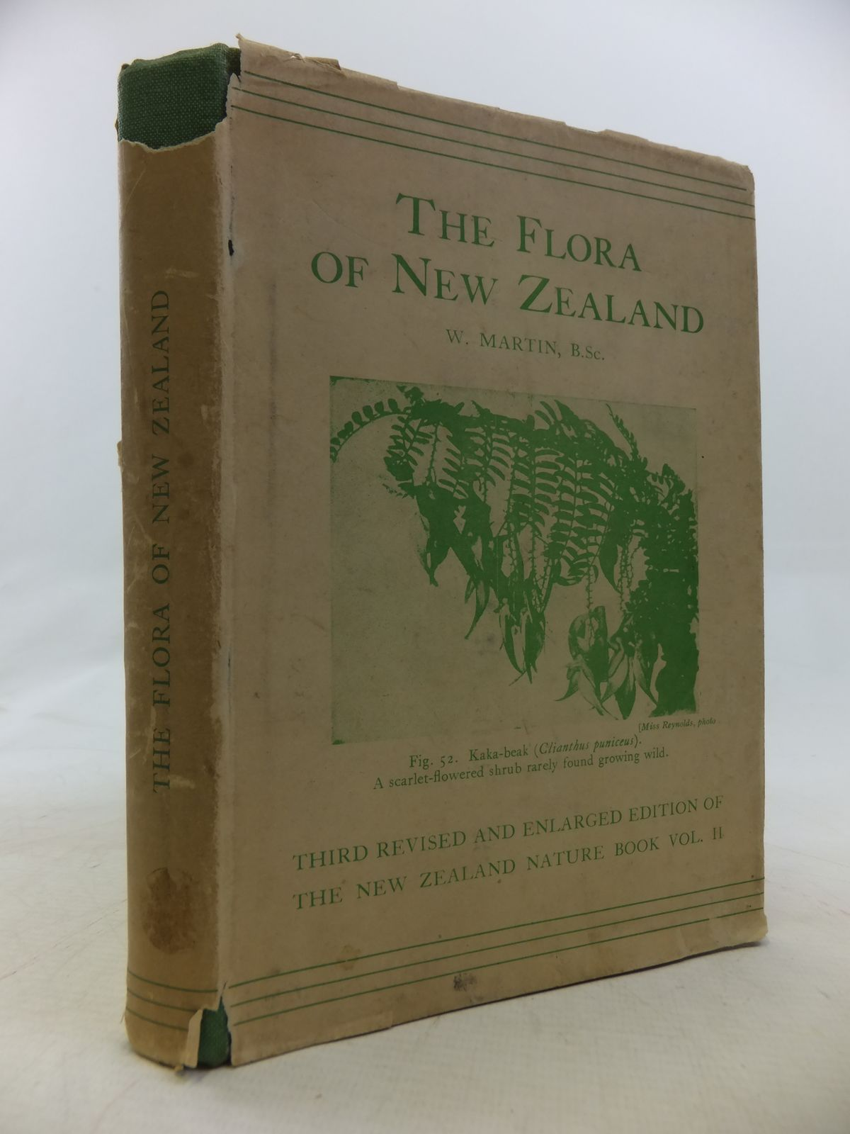 Photo of THE FLORA OF NEW ZEALAND written by Martin, W. published by Whitcombe and Tombs (STOCK CODE: 1809278)  for sale by Stella & Rose's Books