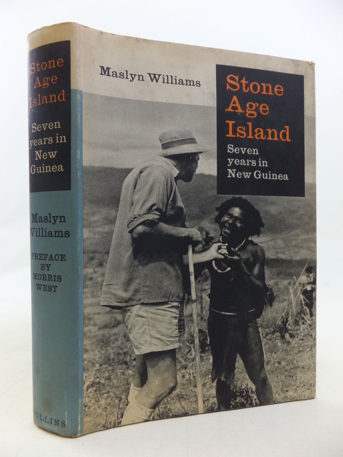 Photo of STONE AGE ISLAND: SEVEN YEARS IN NEW GUINEA written by Williams, Maslyn published by Collins (STOCK CODE: 1809310)  for sale by Stella & Rose's Books