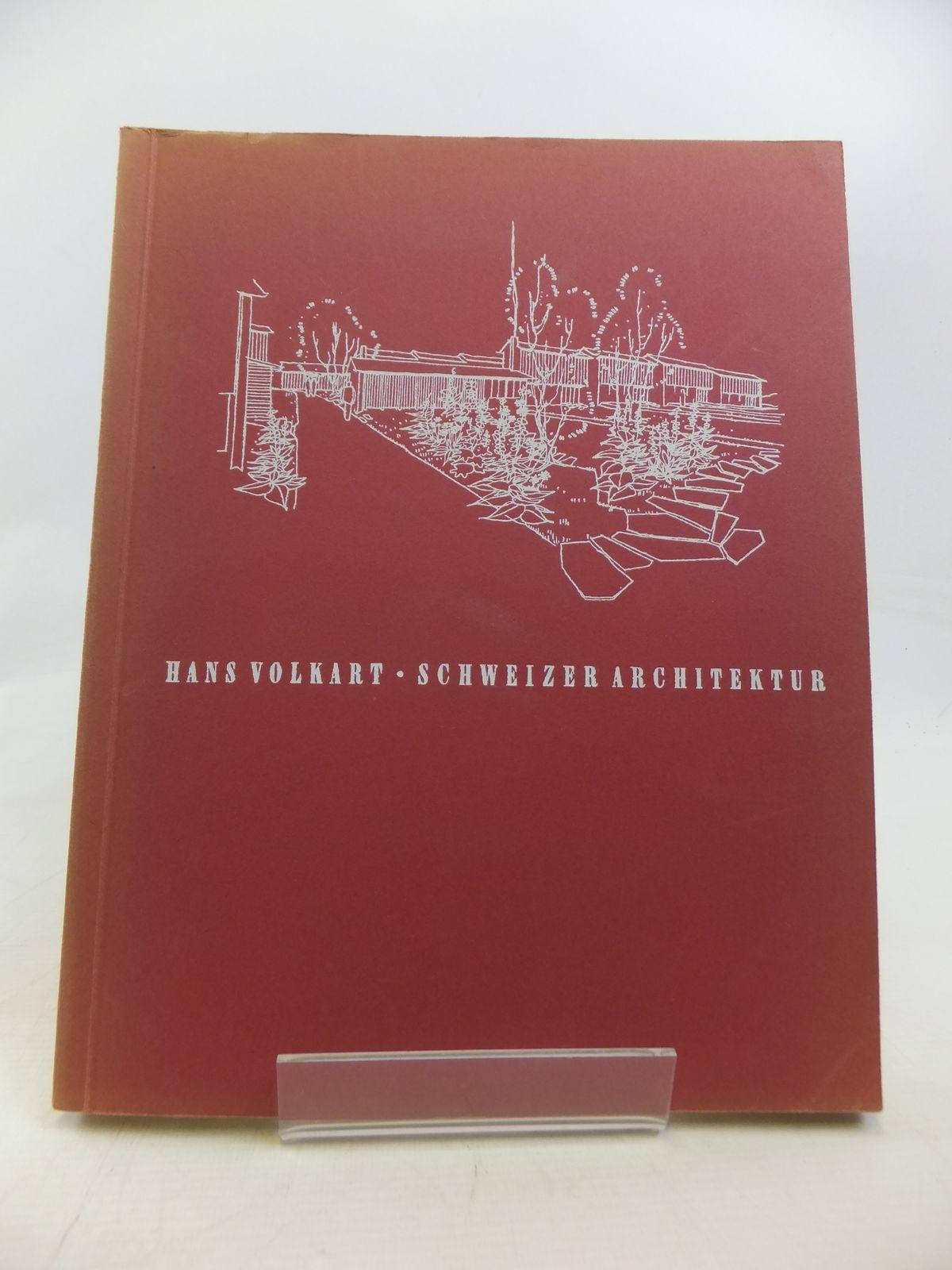 Photo of SCHWEIZER ARCHITEKTUR: EIN UBERLICK UBER DAS SCHWEIZERISCHE BAUSCHAFFEN DER GEGENWART- Stock Number: 1809329