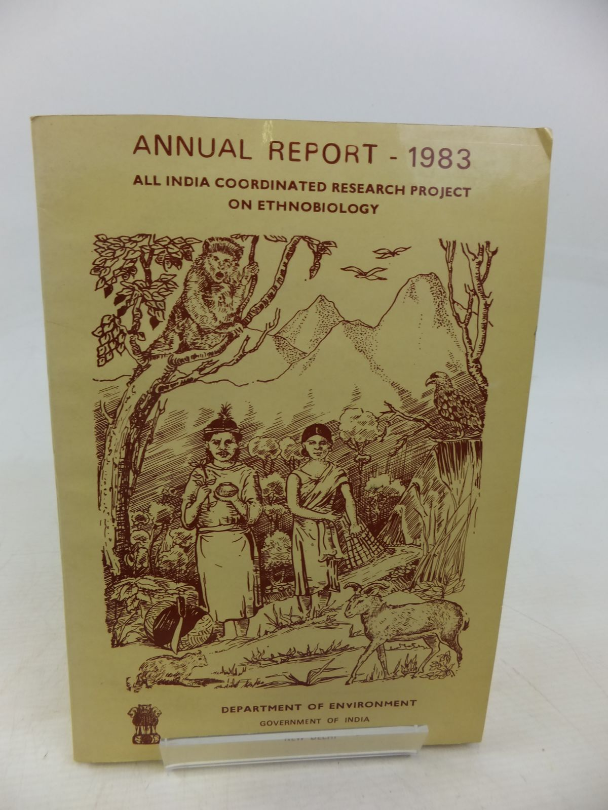 Photo of ALL INDIA COORDINATED RESEARCH PROJECT ON ETHNOBIOLOGY ANNUAL REPORT 1983 published by Government Of India (STOCK CODE: 1809400)  for sale by Stella & Rose's Books