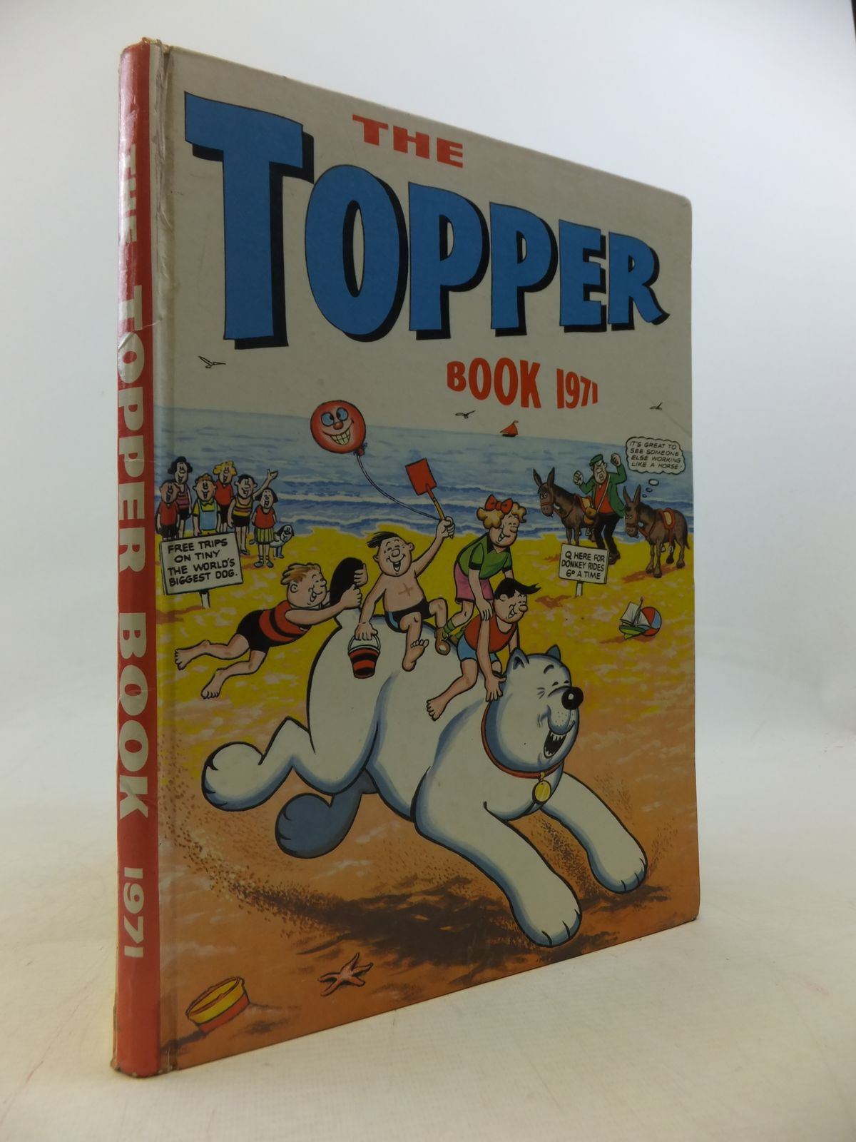 Photo of THE TOPPER BOOK 1971 published by D.C. Thomson & Co Ltd. (STOCK CODE: 1809467)  for sale by Stella & Rose's Books