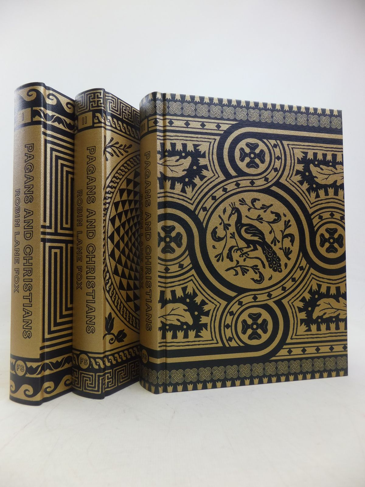 Photo of PAGANS AND CHRISTIANS (3 VOLUMES) written by Fox, Robin Lane published by Folio Society (STOCK CODE: 1809502)  for sale by Stella & Rose's Books