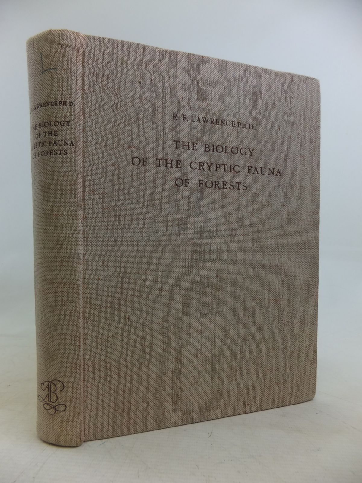 Photo of THE BIOLOGY OF THE CRYPTIC FAUNA OF FORESTS written by Lawrence, R.F. published by A.A. Balkema (STOCK CODE: 1809530)  for sale by Stella & Rose's Books