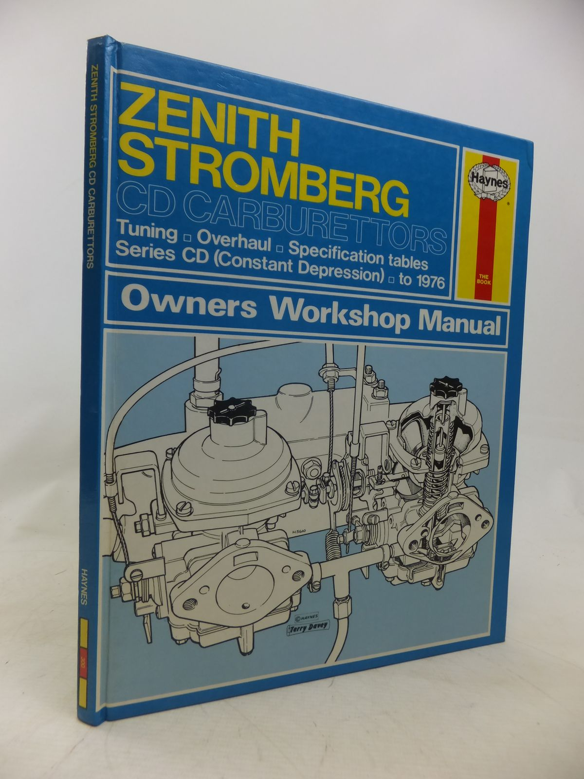 Photo of ZENITH STROMBERG CD OWNERS WORKSHOP MANUAL- Stock Number: 1809776
