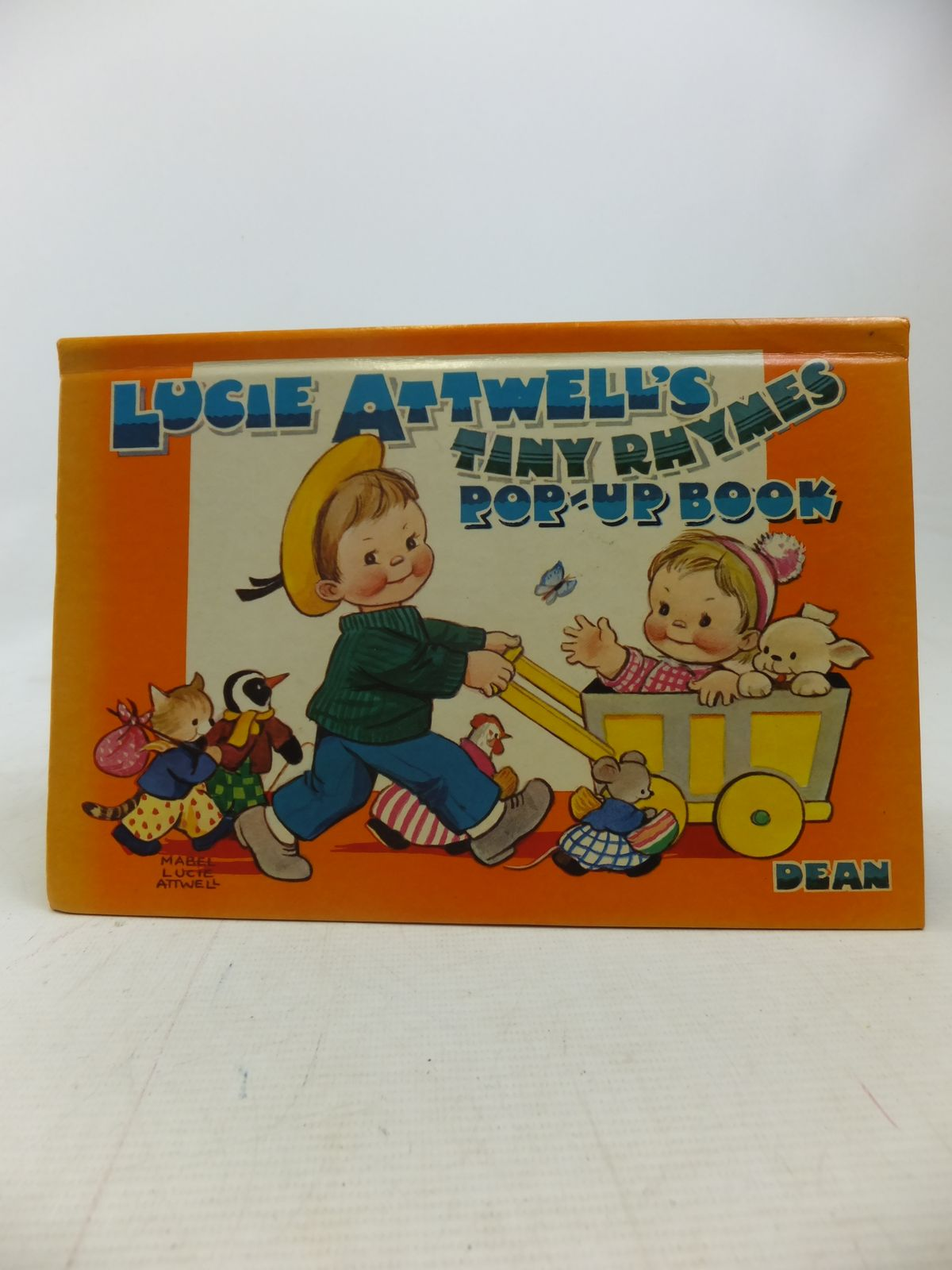 Photo of LUCIE ATTWELL'S TINY RHYMES POP-UP BOOK written by Attwell, Mabel Lucie illustrated by Attwell, Mabel Lucie published by Dean & Son Ltd. (STOCK CODE: 1809786)  for sale by Stella & Rose's Books