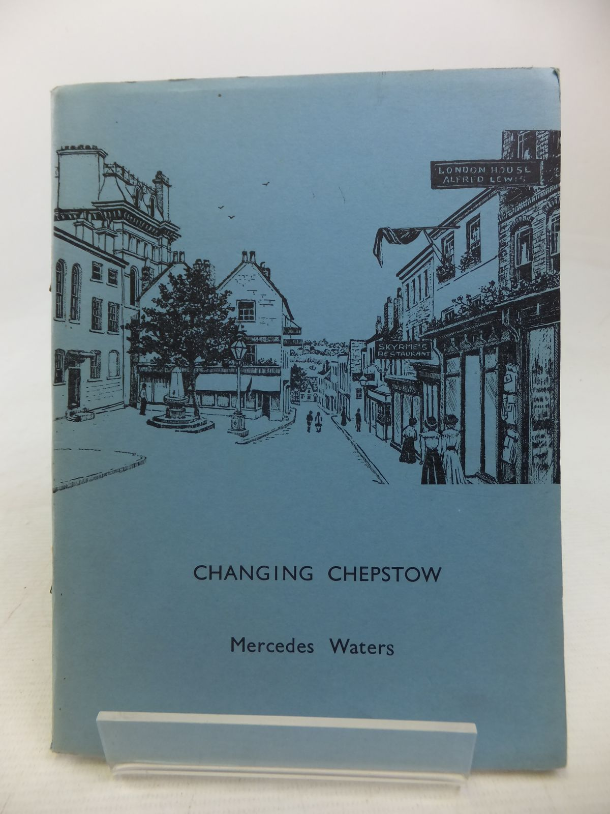 Photo of CHANGING CHEPSTOW written by Waters, Mercedes illustrated by Waters, Mercedes published by The Chepstow Society (STOCK CODE: 1809831)  for sale by Stella & Rose's Books