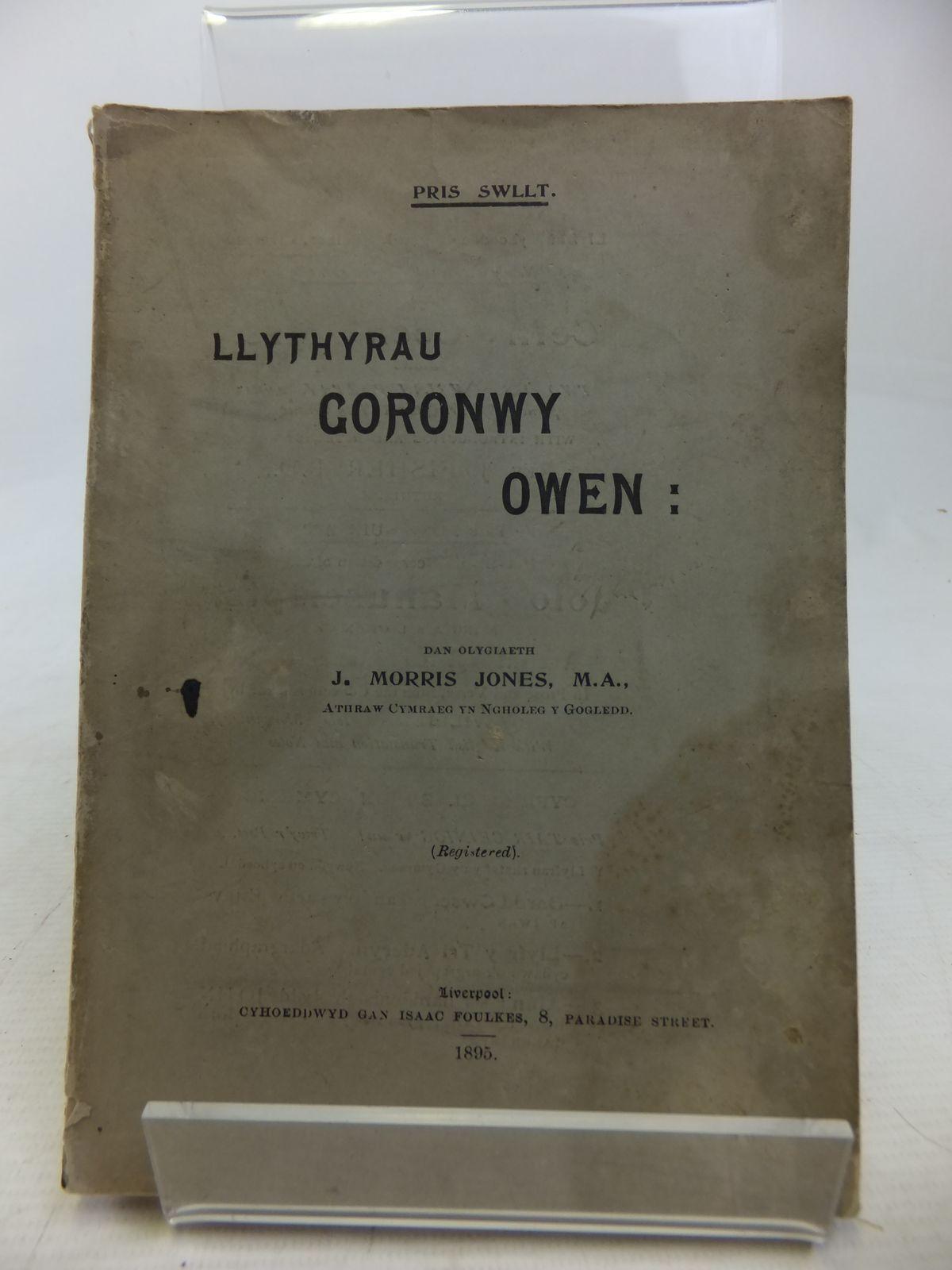 Photo of LLYTHYRAU GORONWY OWEN- Stock Number: 1809844