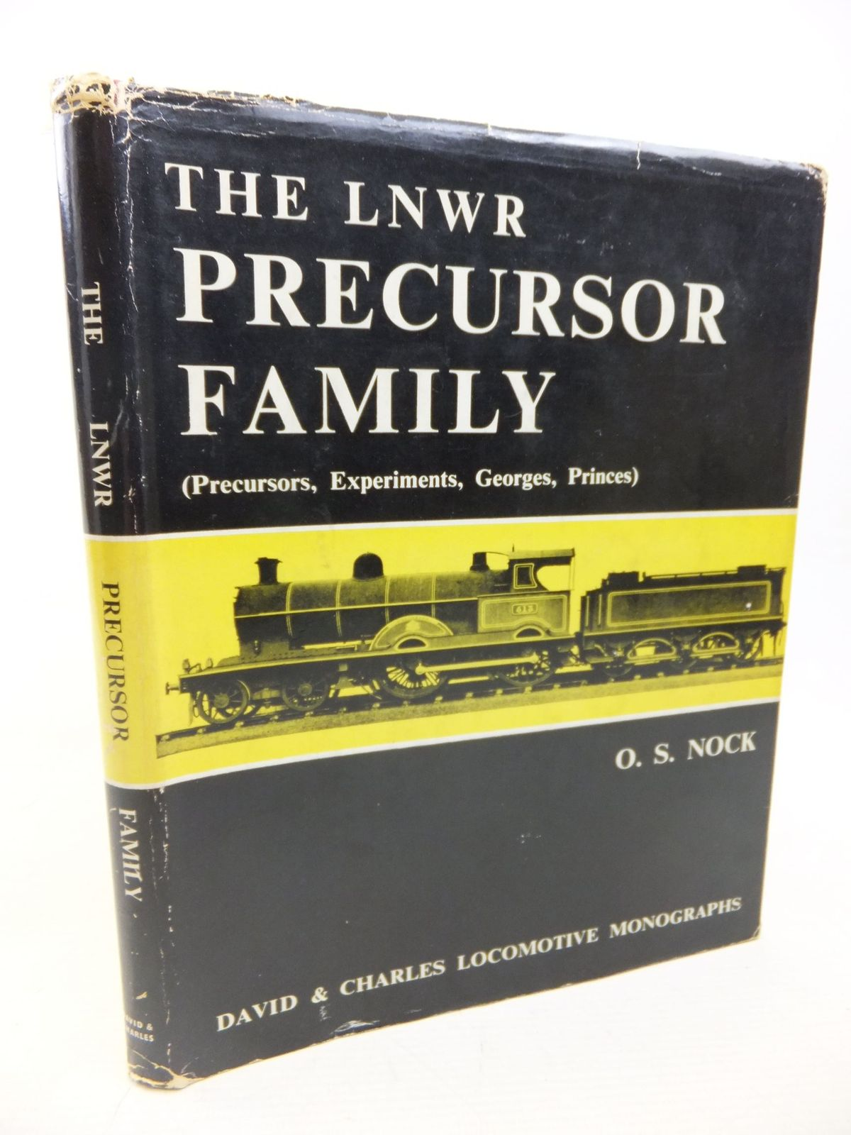 Photo of THE LNWR PRECURSOR FAMILY written by Nock, O.S. published by David & Charles (STOCK CODE: 1810016)  for sale by Stella & Rose's Books