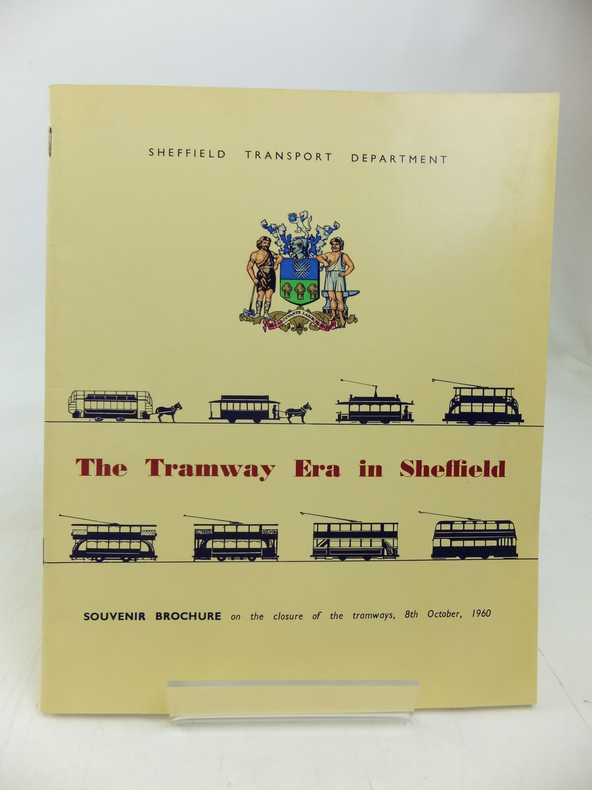 Photo of THE TRAMWAY ERA IN SHEFFIELD published by Sheffield Transport Department (STOCK CODE: 1810123)  for sale by Stella & Rose's Books