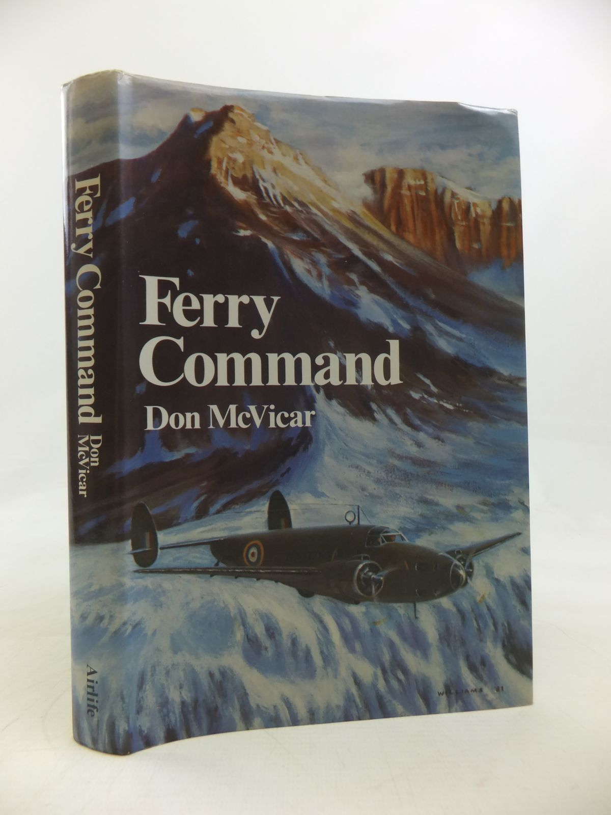 Photo of FERRY COMMAND written by McVicar, Don illustrated by Williams, L.R. published by Airlife (STOCK CODE: 1810558)  for sale by Stella & Rose's Books