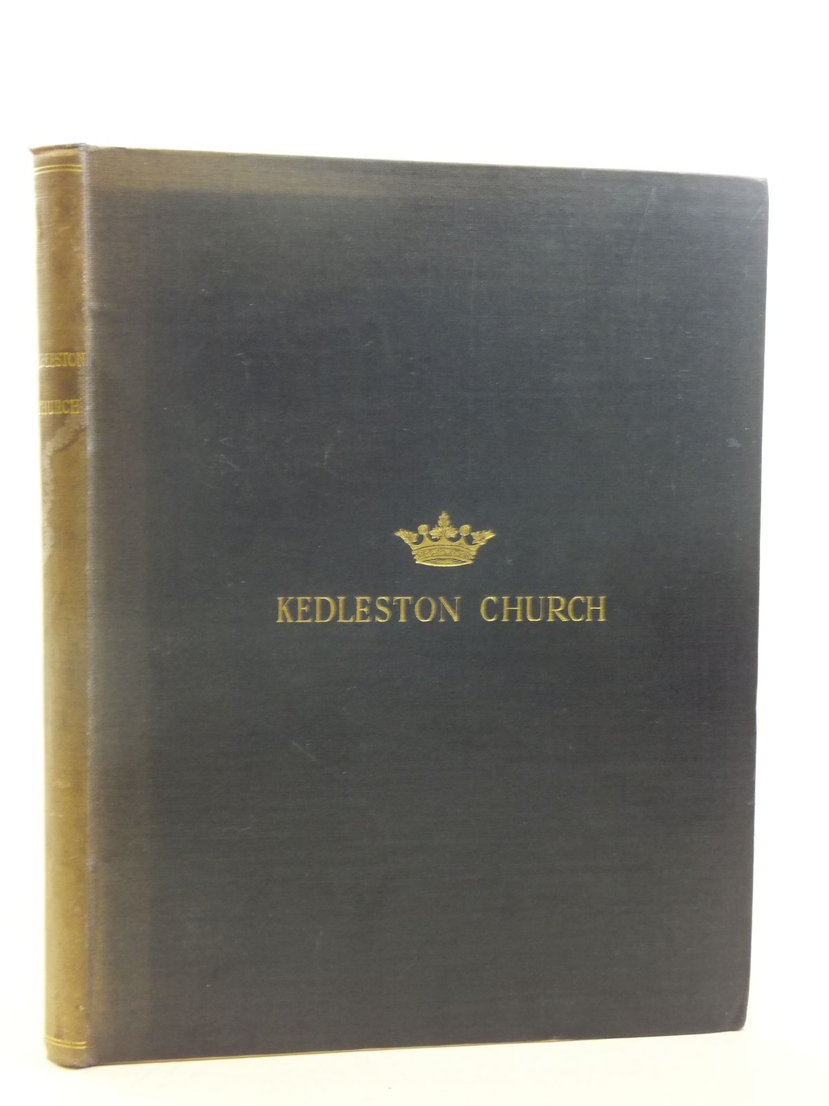 Photo of KEDLESTON CHURCH AN ACCOUNT, HISTORICAL, DESCRIPTIVE AND ARCHAEOLOGICAL written by Kedleston, Marquess Curzon Of published by Chiswick Press (STOCK CODE: 1810881)  for sale by Stella & Rose's Books