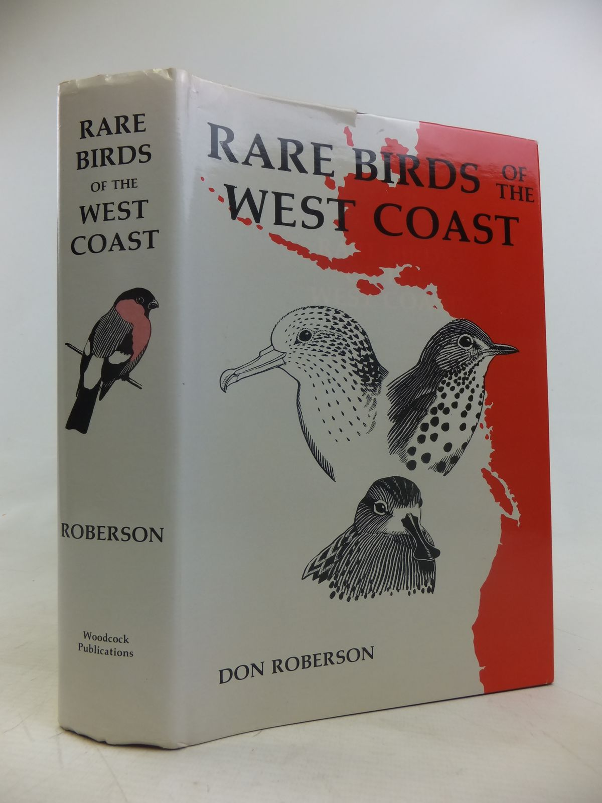 Photo of RARE BIRDS OF THE WEST COAST OF NORTH AMERICA written by Roberson, Don illustrated by Roberson, Don Dittmann, Donna et al.,  published by Woodcock Publications (STOCK CODE: 1810997)  for sale by Stella & Rose's Books