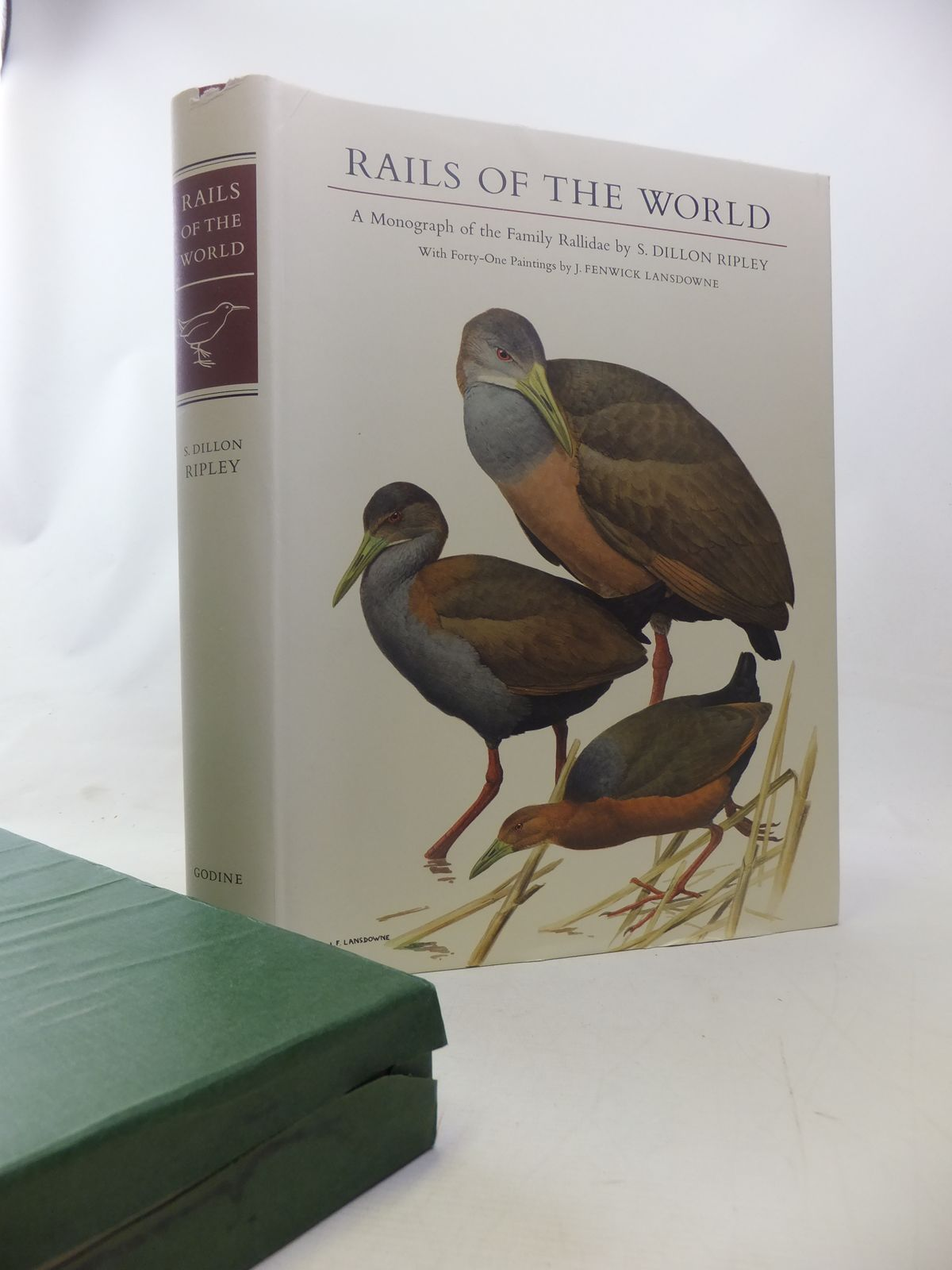 Photo of RAILS OF THE WORLD written by Ripley, S. Dillon<br />Olson, Storrs L. illustrated by Lansdowne, J. Fenwick published by M.F. Feheley (STOCK CODE: 1811048)  for sale by Stella & Rose's Books