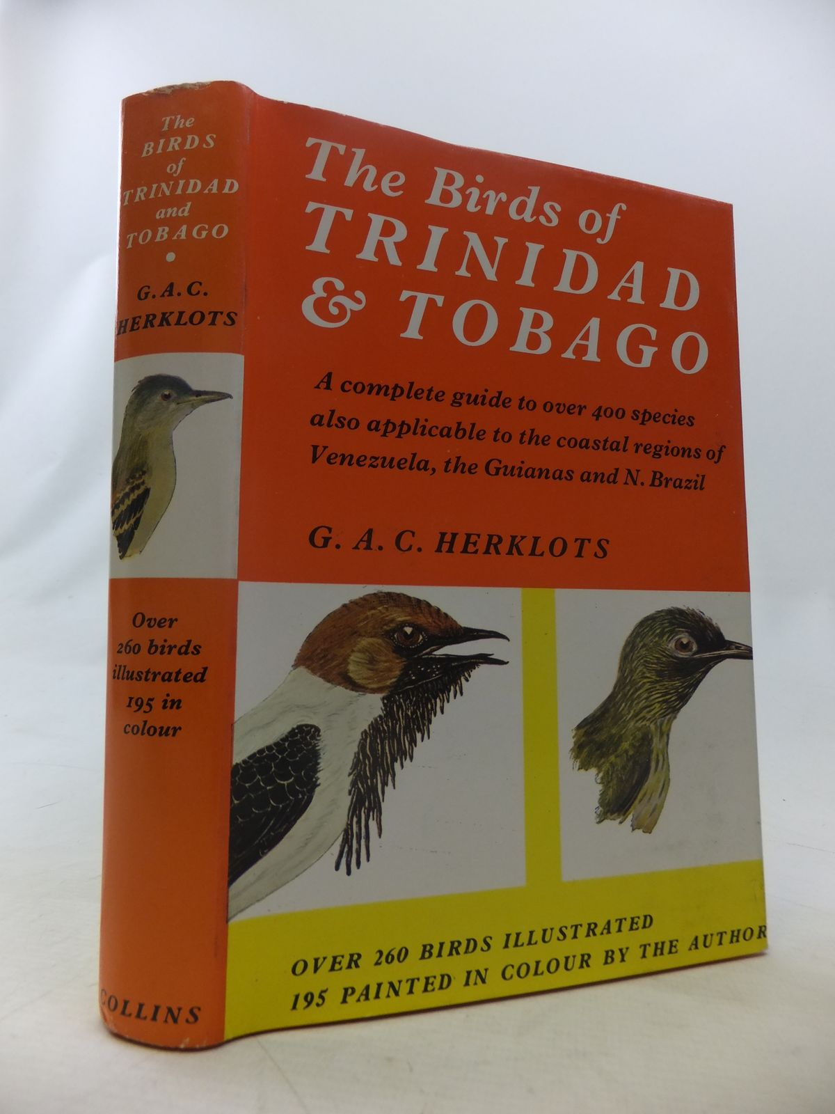Photo of THE BIRDS OF TRINIDAD AND TOBAGO written by Herklots, G.A.C. illustrated by Herklots, G.A.C. Abbott, J.M. published by Collins (STOCK CODE: 1811060)  for sale by Stella & Rose's Books