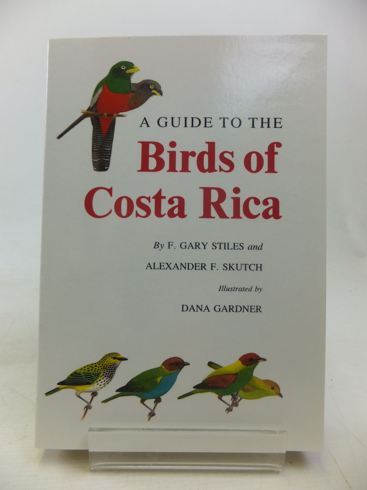 Photo of A GUIDE TO THE BIRDS OF COSTA RICA written by Stiles, F. Gary Skutch, Alexander F. illustrated by Gardner, Dana published by Christopher Helm (STOCK CODE: 1811107)  for sale by Stella & Rose's Books