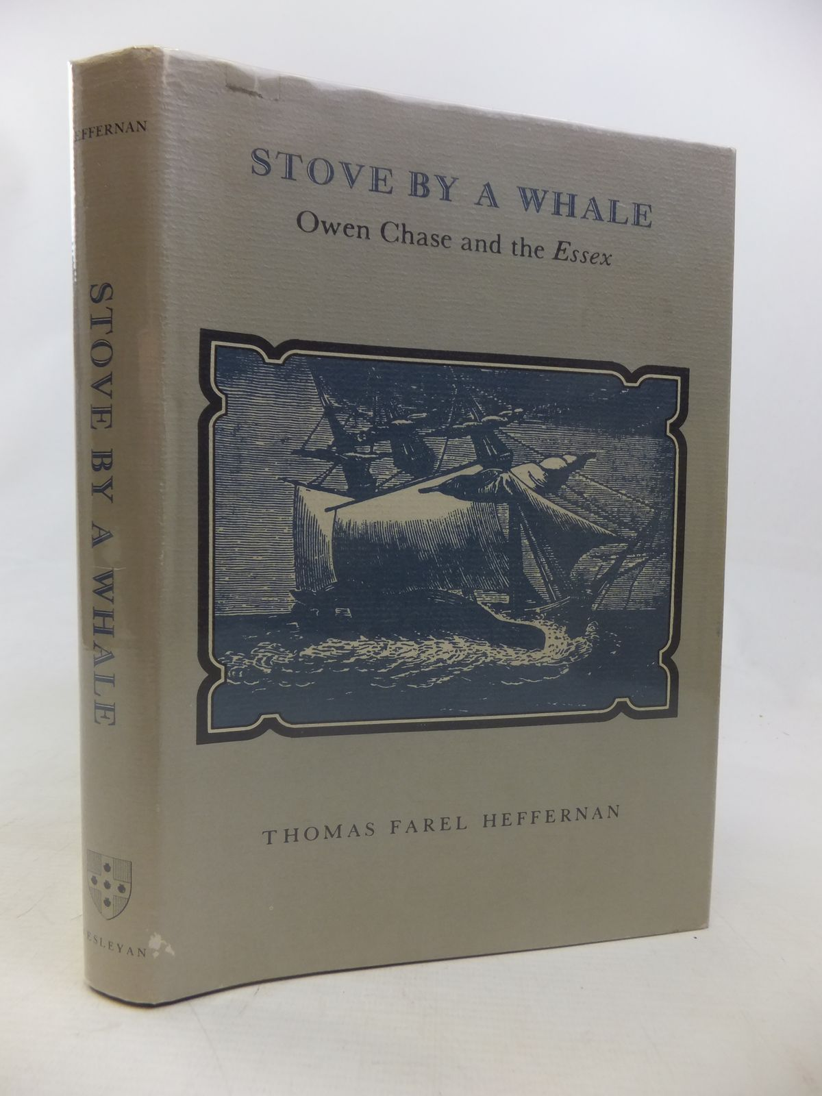 Photo of STOVE BY A WHALE: OWEN CHASE AND THE ESSEX- Stock Number: 1811134