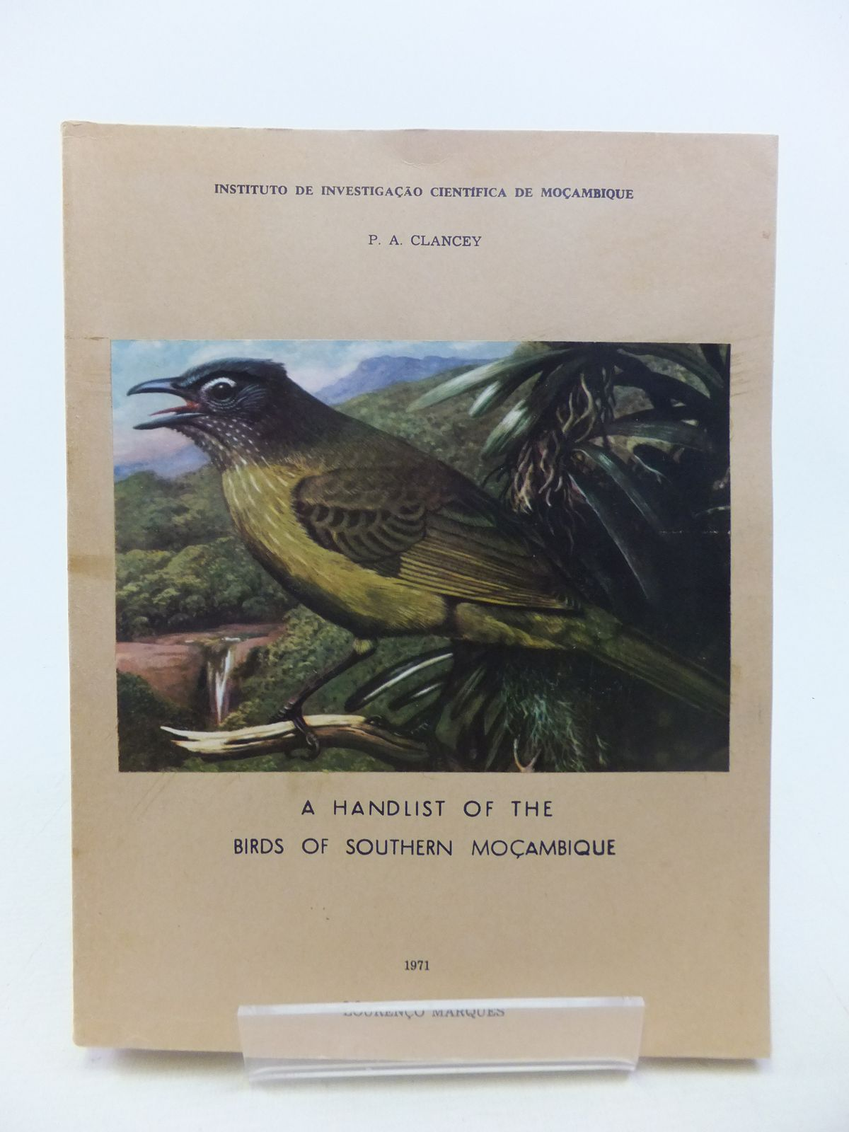 Photo of A HANDLIST OF THE BIRDS OF SOUTHERN MOCAMBIQUE- Stock Number: 1811169