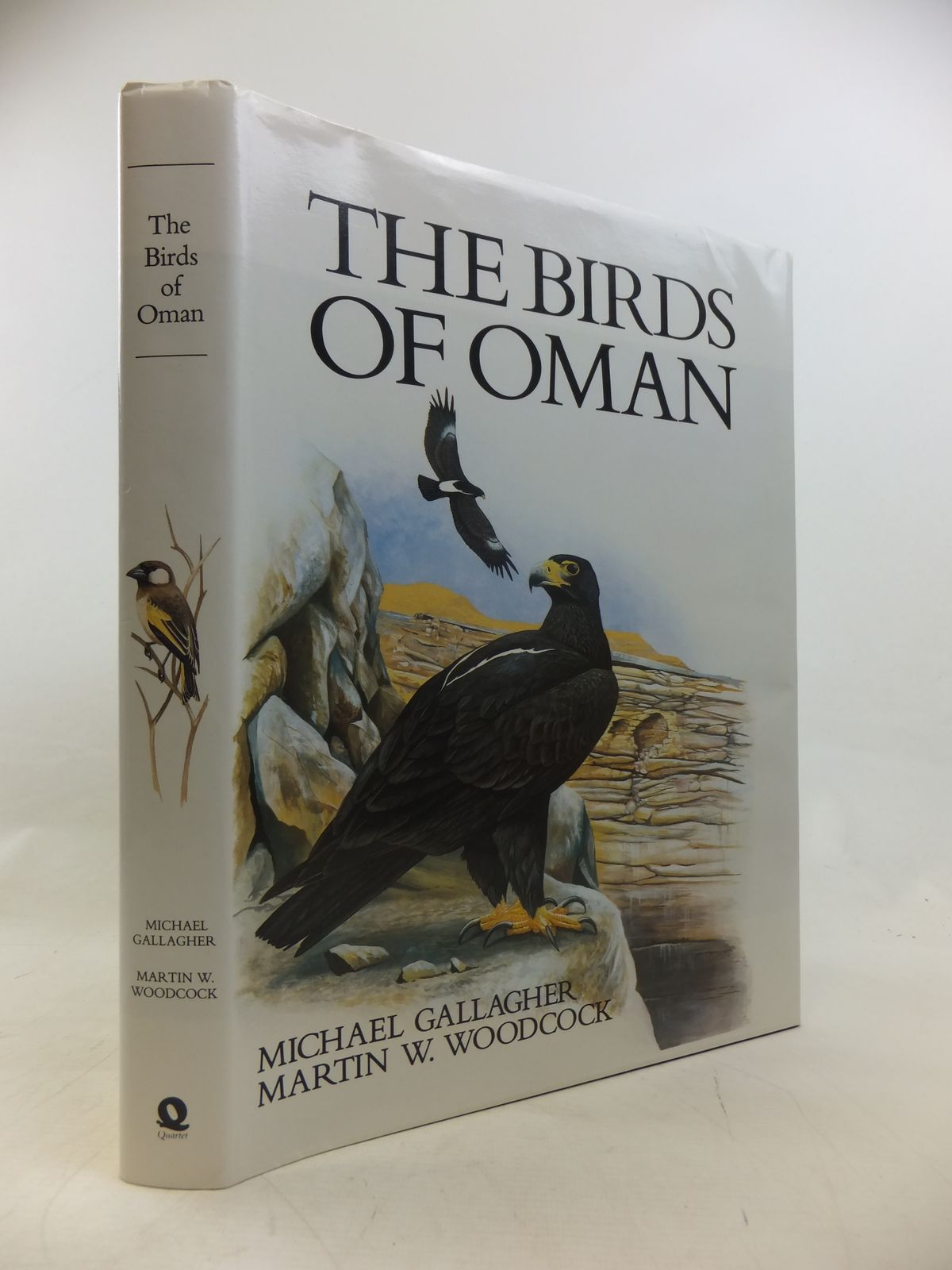Photo of THE BIRDS OF OMAN written by Gallagher, Michael illustrated by Woodcock, Martin W. published by Quartet Books (STOCK CODE: 1811190)  for sale by Stella & Rose's Books