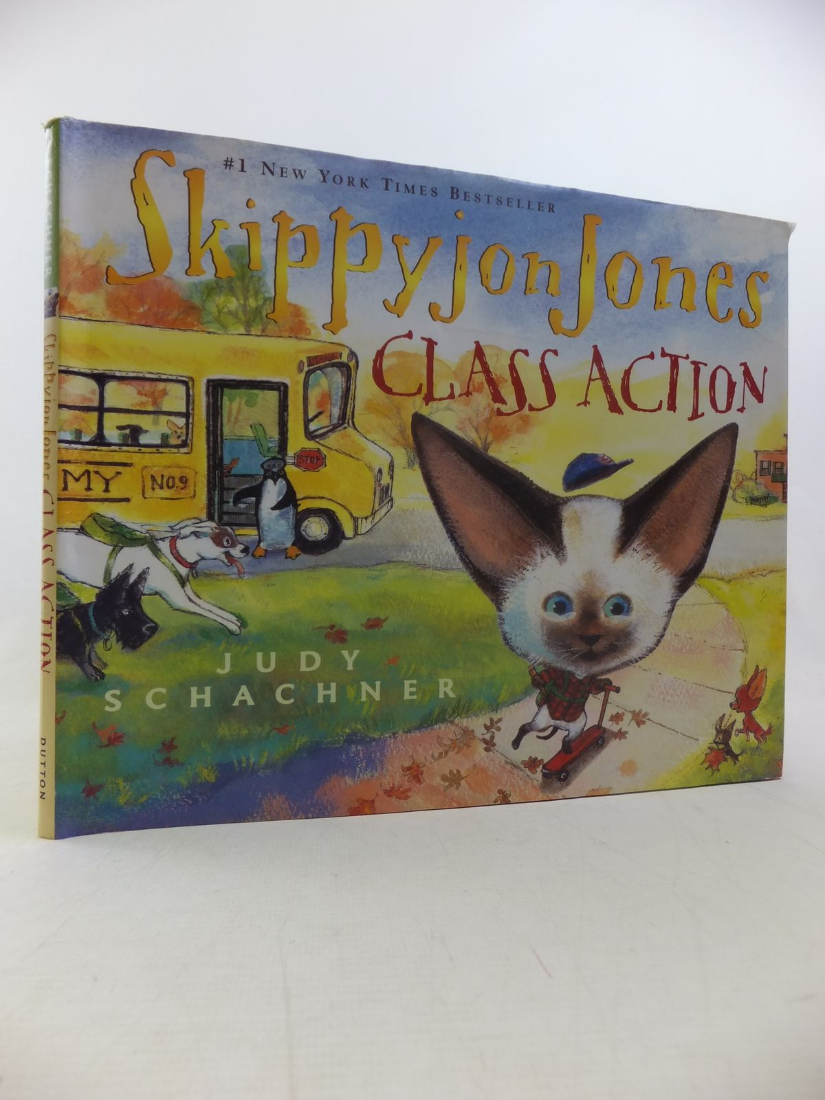 Photo of SKIPPYJON JONES: CLASS ACTION written by Schachner, Judy illustrated by Schachner, Judy published by Dutton Children's Books (STOCK CODE: 1811221)  for sale by Stella & Rose's Books