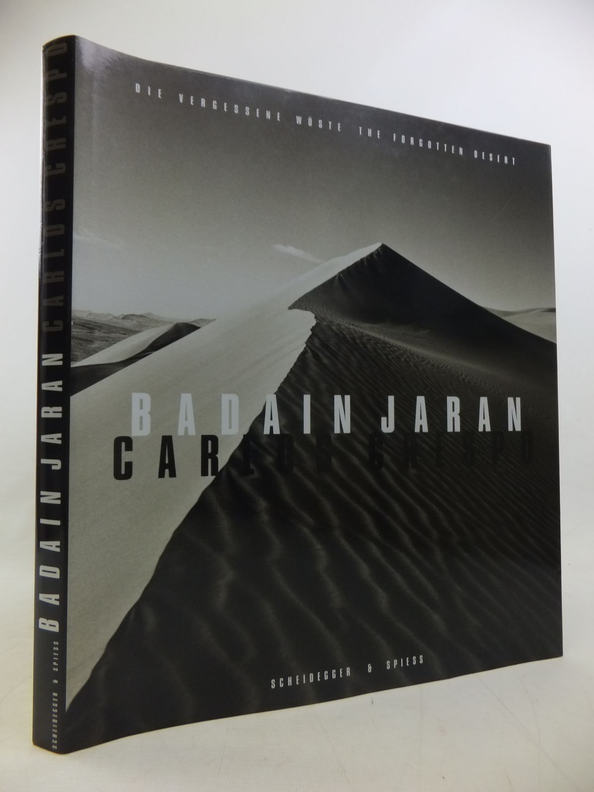 Photo of BADAIN JARAN: THE FORGOTTEN DESERT: DIE VERGESSENE WUSTE written by Hug, Catherine<br />Kouwenhoven, Bill illustrated by Crespo, Luis Fresnocarlos published by Scheidegger &amp; Spiess (STOCK CODE: 1811246)  for sale by Stella & Rose's Books