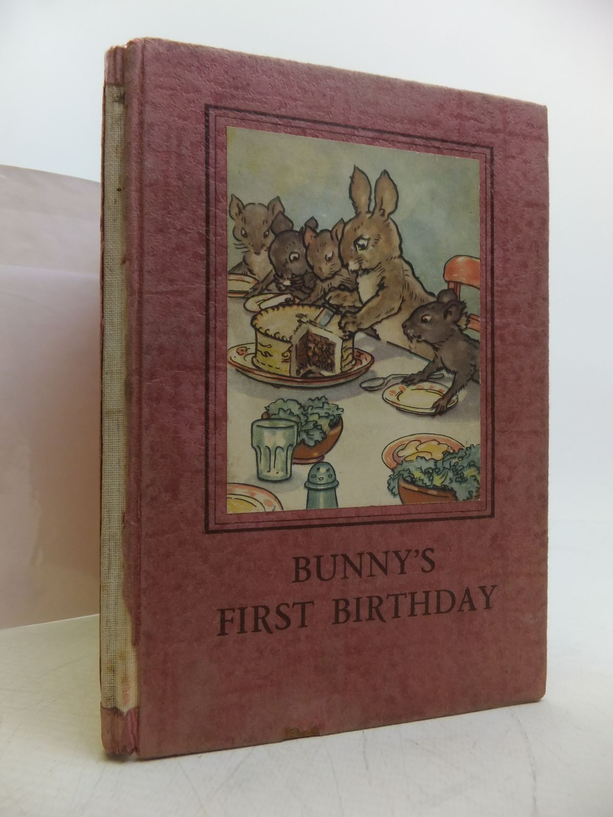 Photo of BUNNY'S FIRST BIRTHDAY written by Macgregor, A.J. Perring, W. illustrated by Macgregor, A.J. published by Wills & Hepworth Ltd. (STOCK CODE: 1811389)  for sale by Stella & Rose's Books