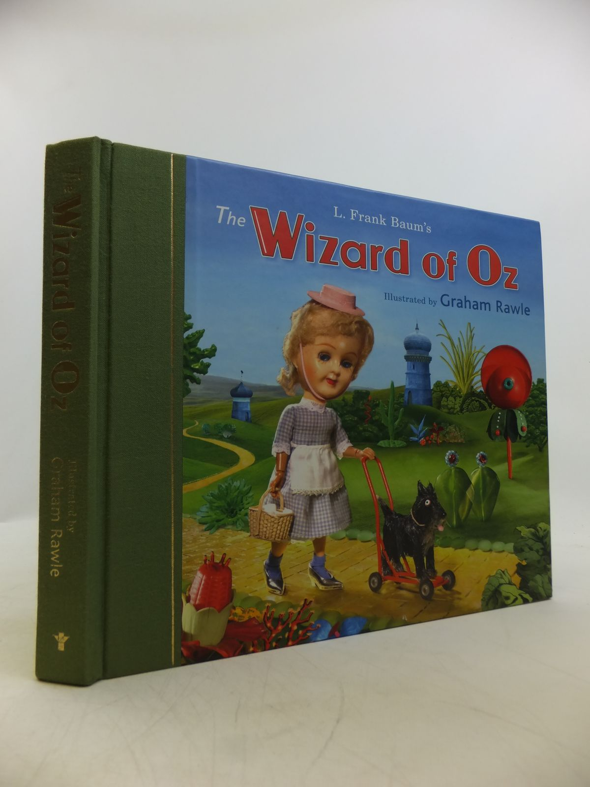 Photo of THE WIZARD OF OZ written by Baum, L. Frank illustrated by Rawle, Graham published by Atlantic Books (STOCK CODE: 1811486)  for sale by Stella & Rose's Books