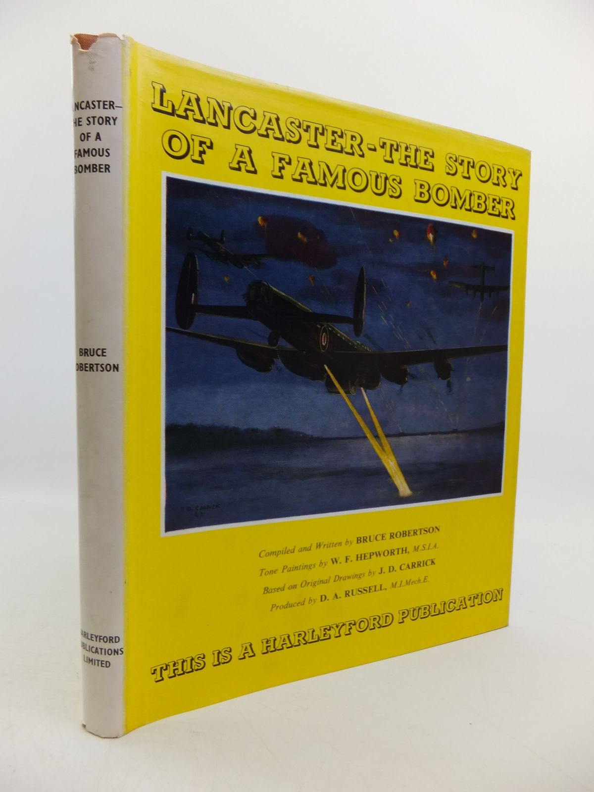 Photo of LANCASTER THE STORY OF A FAMOUS BOMBER written by Robertson, Bruce illustrated by Hepworth, W.F. published by Harleyford Publications Limited (STOCK CODE: 1811583)  for sale by Stella & Rose's Books