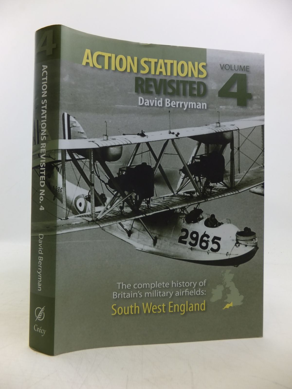Photo of ACTION STATIONS REVISITED THE COMPLETE HISTORY OF BRITAIN'S MILITARY AIRFIELDS: No. 4 SOUTH WEST ENGLAND written by Berryman, David published by Crecy Publishing Limited (STOCK CODE: 1811744)  for sale by Stella & Rose's Books