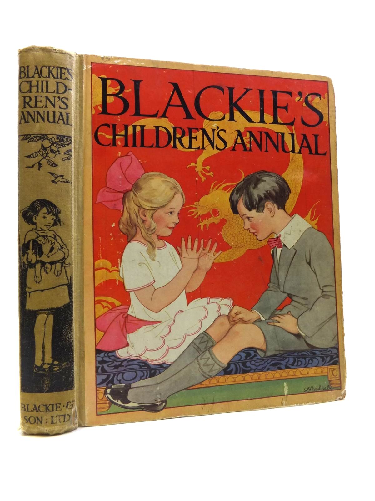 Photo of BLACKIE'S CHILDREN'S ANNUAL 21ST YEAR written by Wemyss, Mrs. George Barnes, Madeline Scott-Hopper, Queenie Pocock, Doris Talbot, Ethel et al,  illustrated by Hiley, Francis E. Brisley, Joyce Lankester Brisley, Nina K. Petherick, Rosa C. Aris, Ernest A. Barker, Cicely Mary et al.,  published by Blackie & Son Ltd. (STOCK CODE: 1811945)  for sale by Stella & Rose's Books