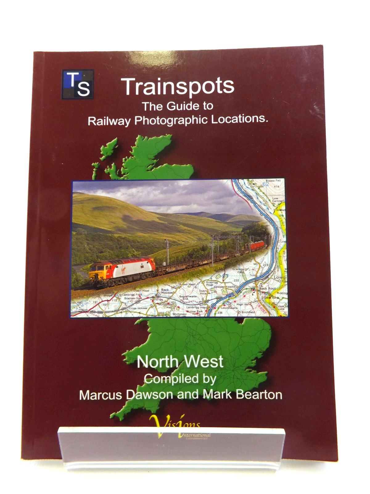 Photo of TRAINSPOTS THE GUIDE TO RAILWAY PHOTOGRAPHIC LOCATIONS NORTH WEST written by Dawson, Marcus Bearton, Mark published by Visions International Entertainment Limited (STOCK CODE: 1812015)  for sale by Stella & Rose's Books